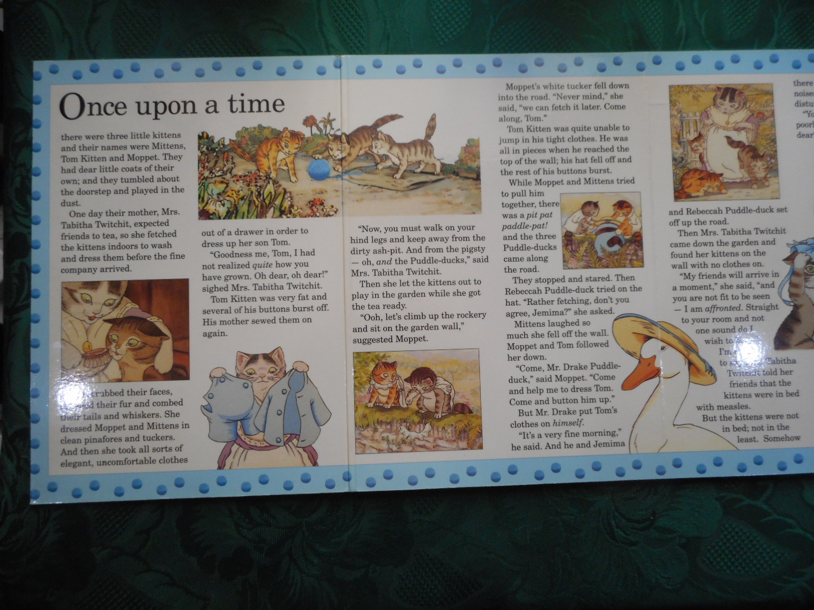 Image for Tom Kitten. A Puzzle Play Book
