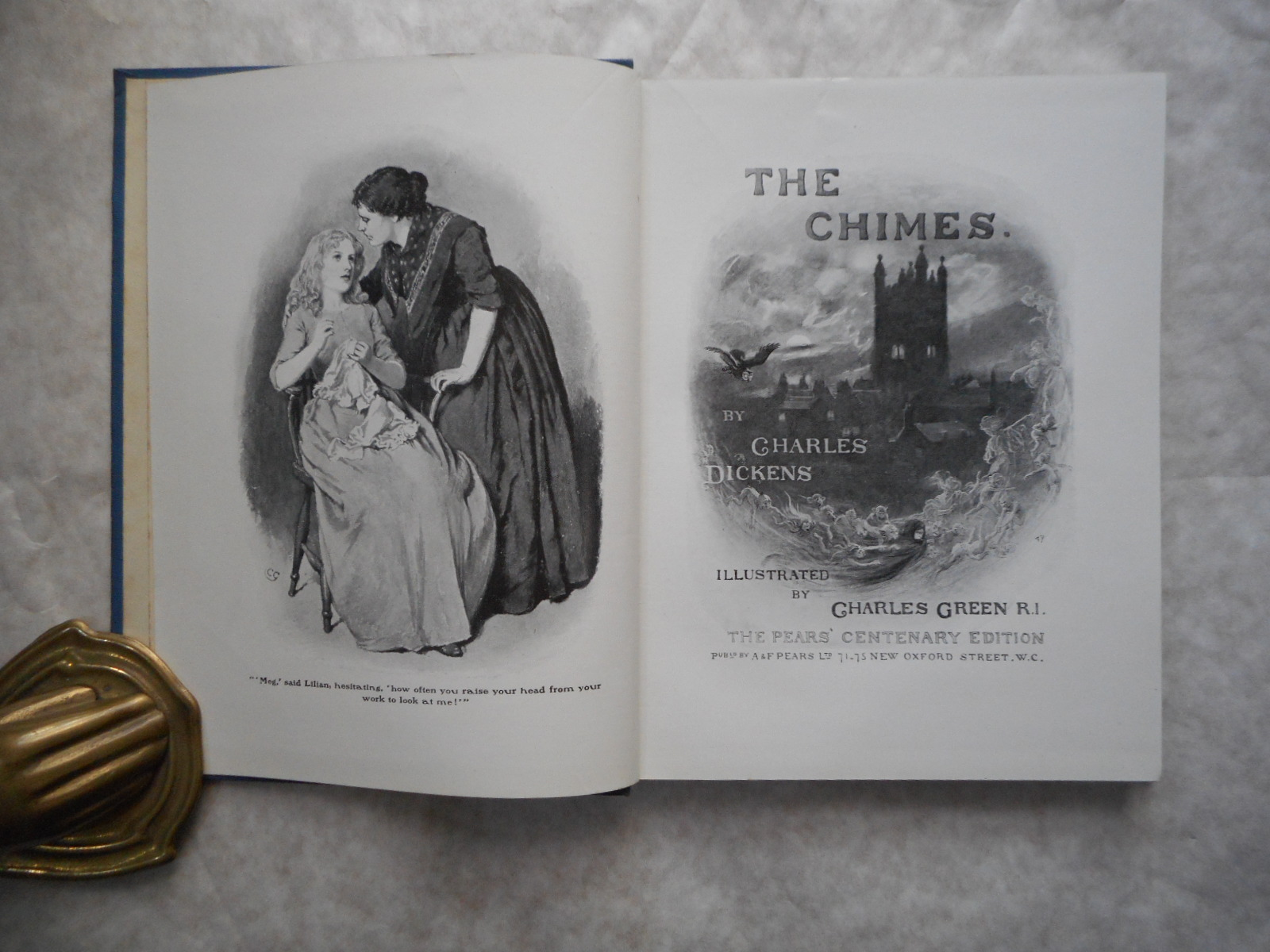 Image for Pears' Centenary Edition of Charles Dickens' Christmas Books. The CHIMES.
