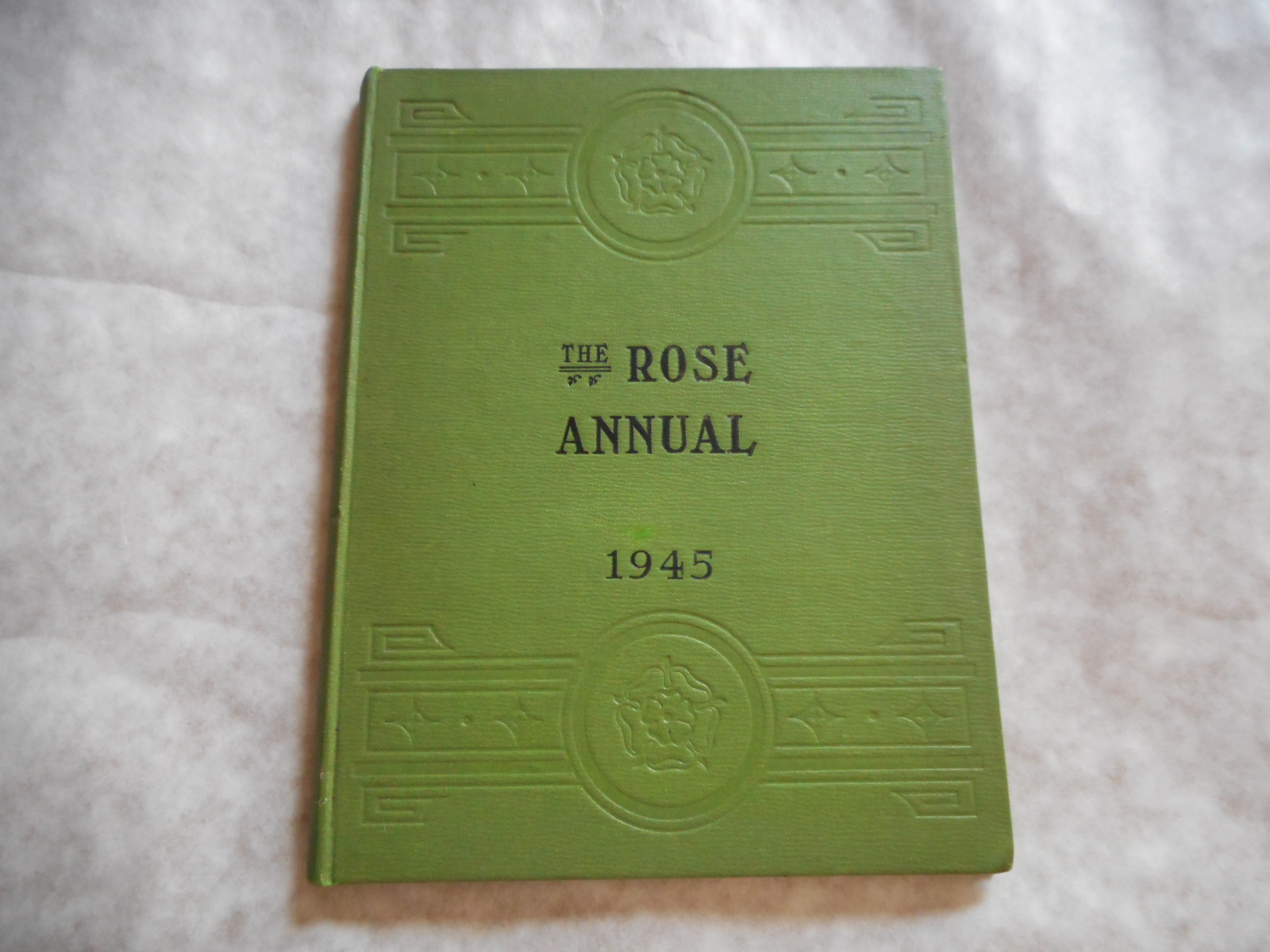 Image for THE ROSE ANNUAL for 1945 of the NATIONAL ROSE SOCIETY