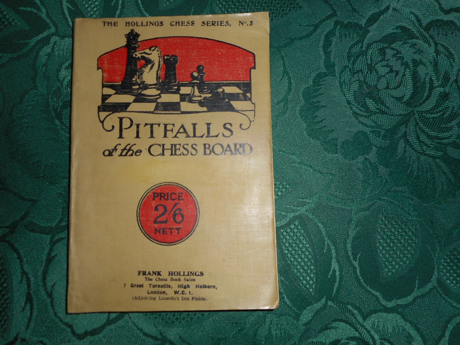 Image for Pitfalls of the Chessboard (The Hollings Series No 5) New Edition Revised & Enlarged with Many Fresh Examples by W. H Watts