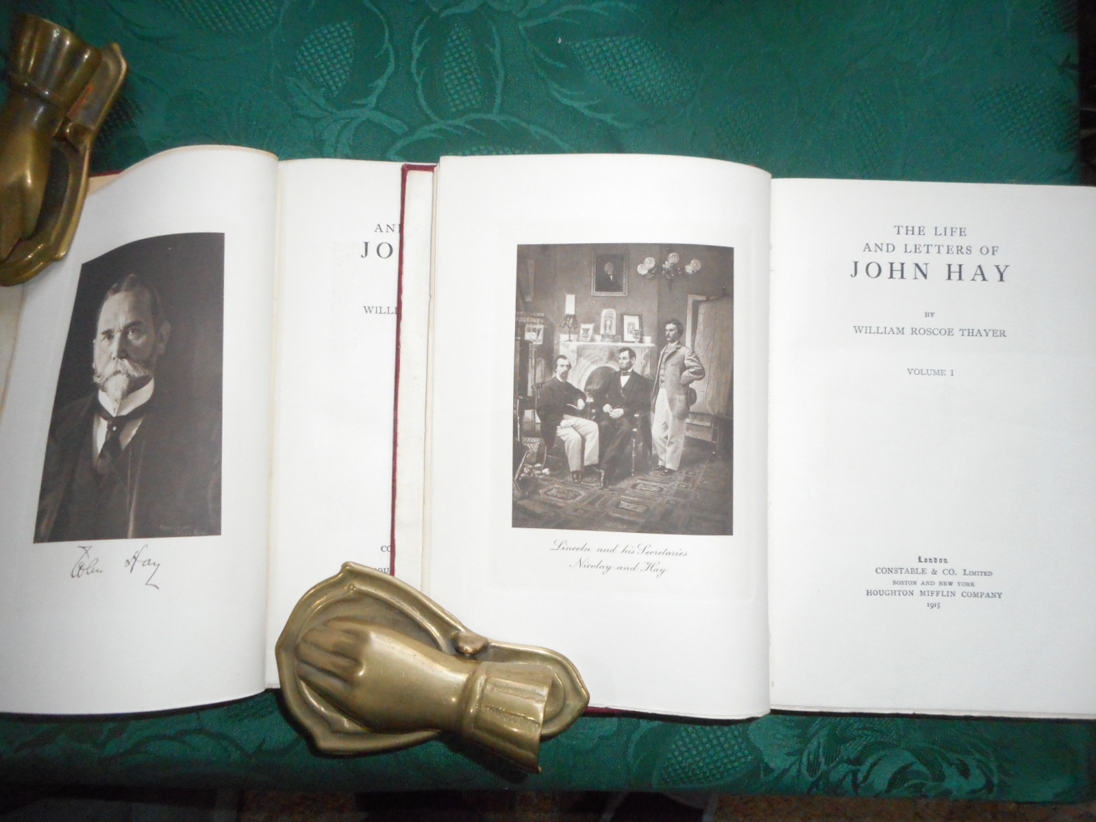 Image for The Life and Letters of John Hay . Volumes 1 & 2 (Complete Set in 2 Volumes)