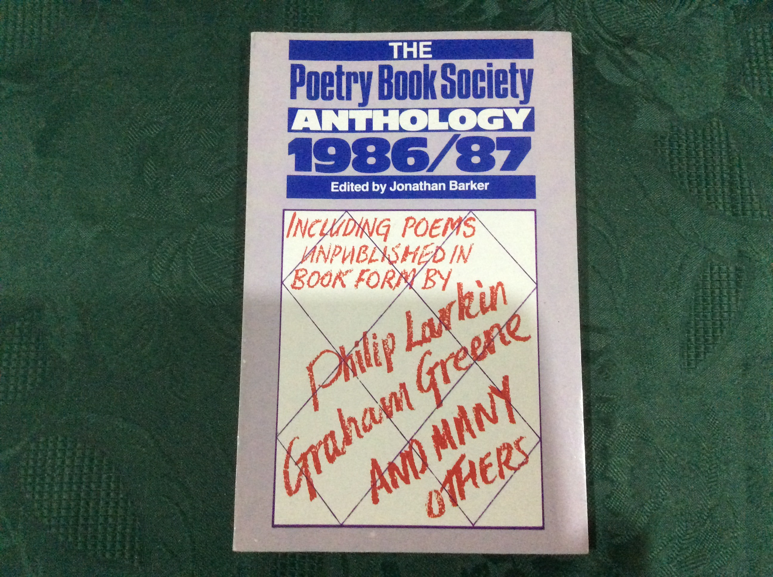 Image for The Poetry Book Society Anthology 1986/87
