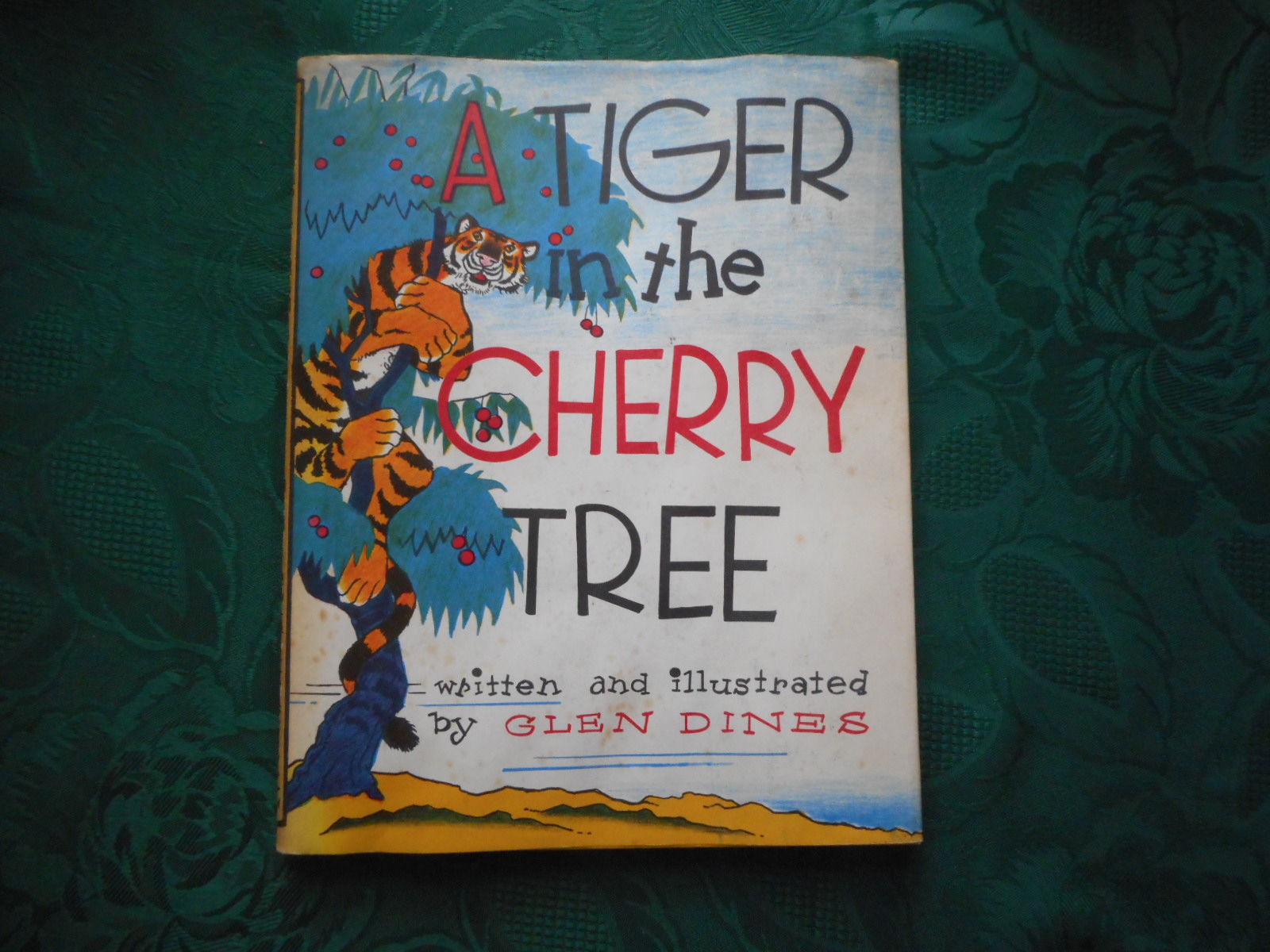 Image for A Tiger in the Cherry Tree