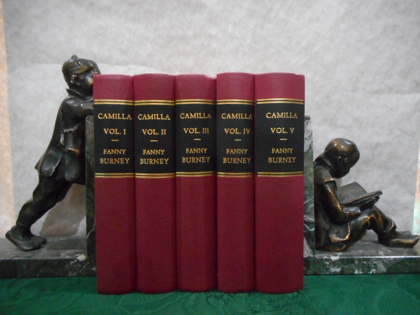 Image for Camilla: or, A Picture of Youth (Complete in Five Volumes)