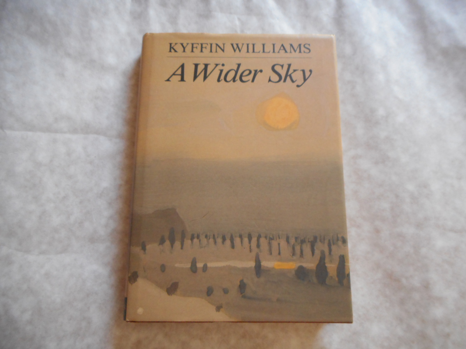 Image for A Wider Sky  (SIGNED Copy TOGETHER with a Loose Initialled PRINT of a Horseman)