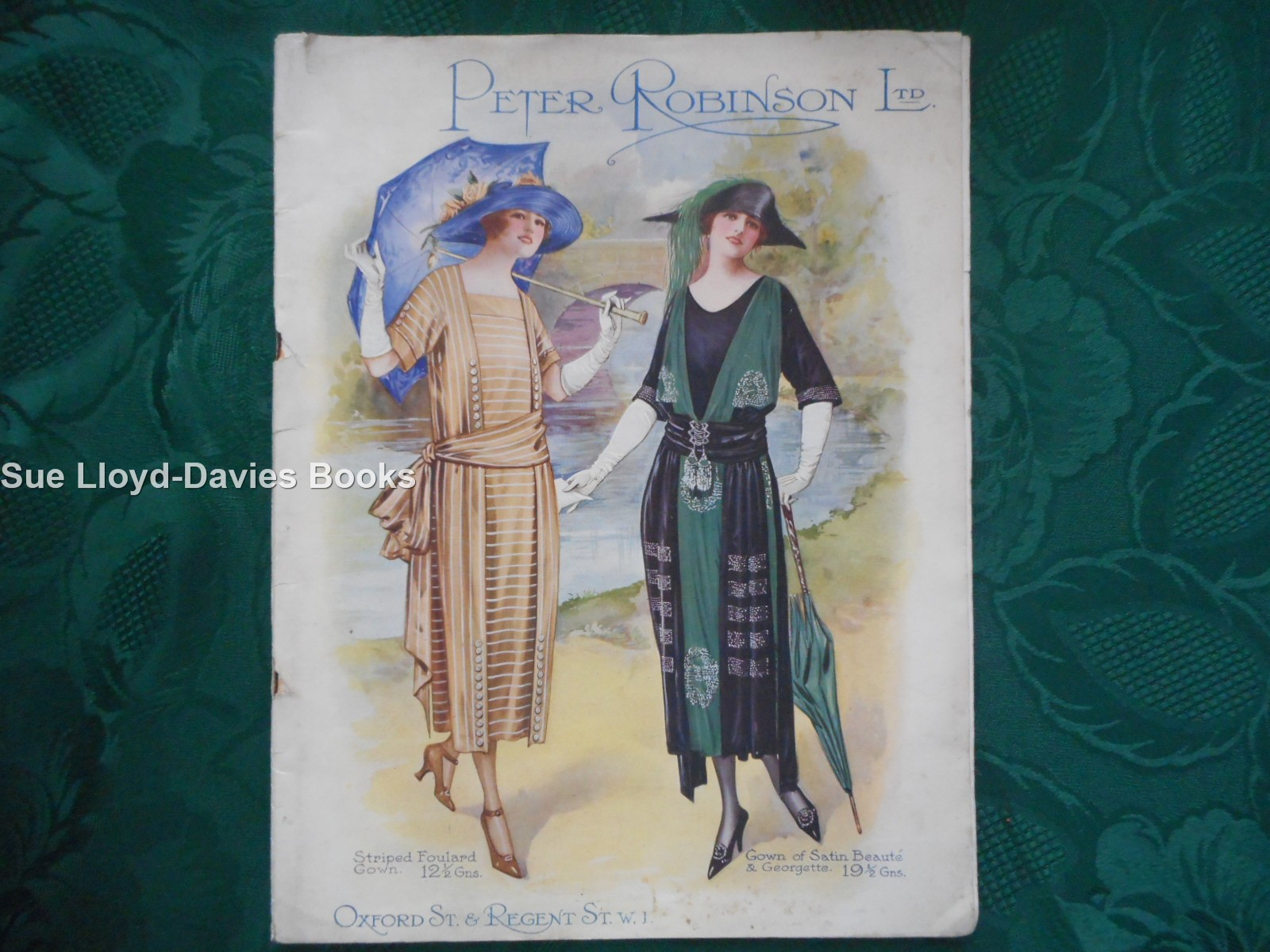 Image for Catalogue of Spring and Summer Fashions 1921. Peter Robinson Ltd, Oxford St & Regent St. W1.