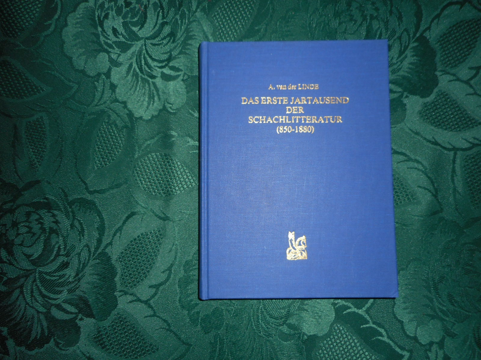 Image for Das Erste Jartausend Der Schachlitteratur (850-1880). LIMITED EDITION Facsimile. With an Introduction by Dale A. Brandreth and a Postscript and Errata by Egbert Meissenburg.