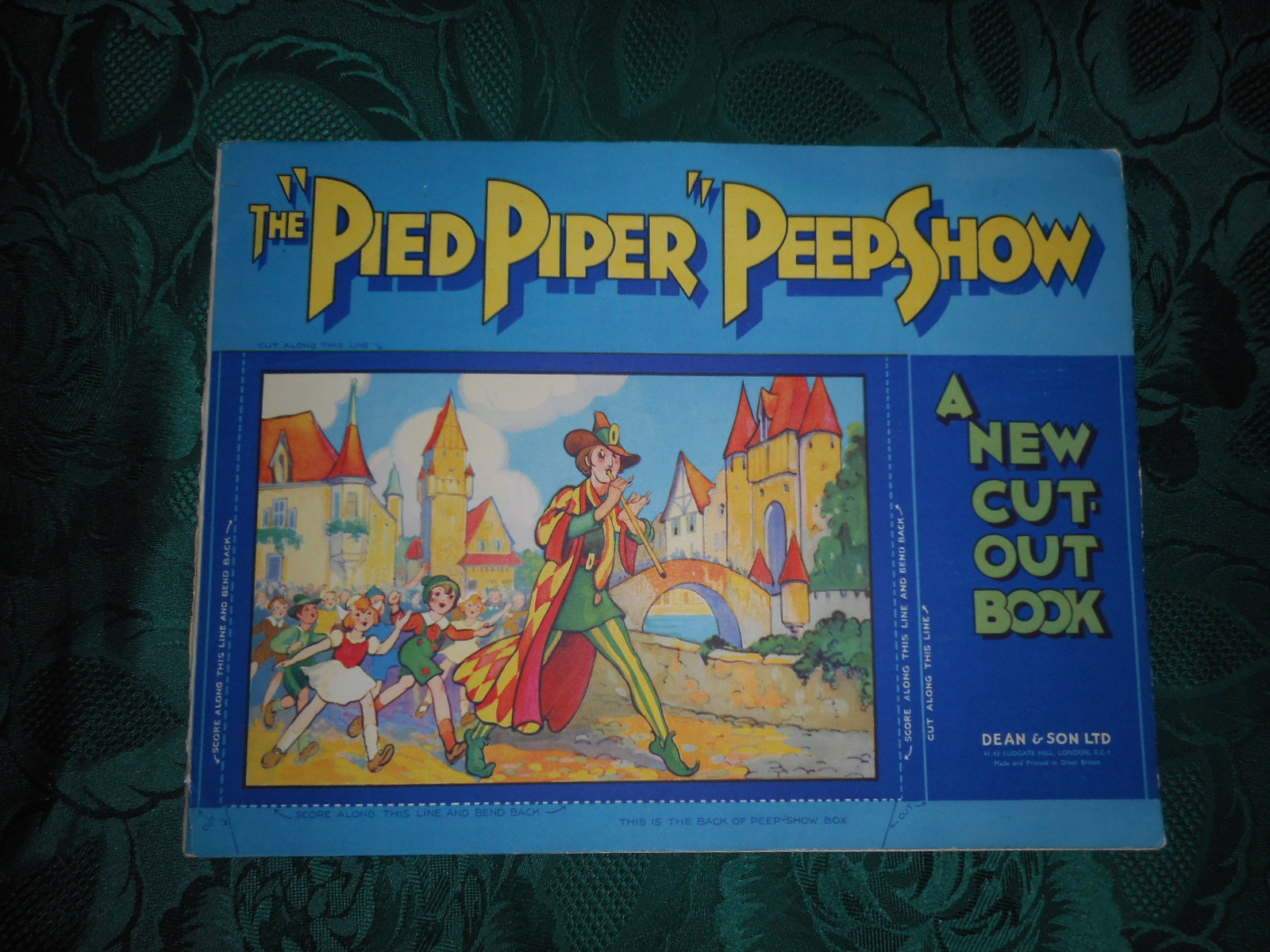 "Image for The ""Pied Piper"" Peep Show. A New Cut-Out Book"