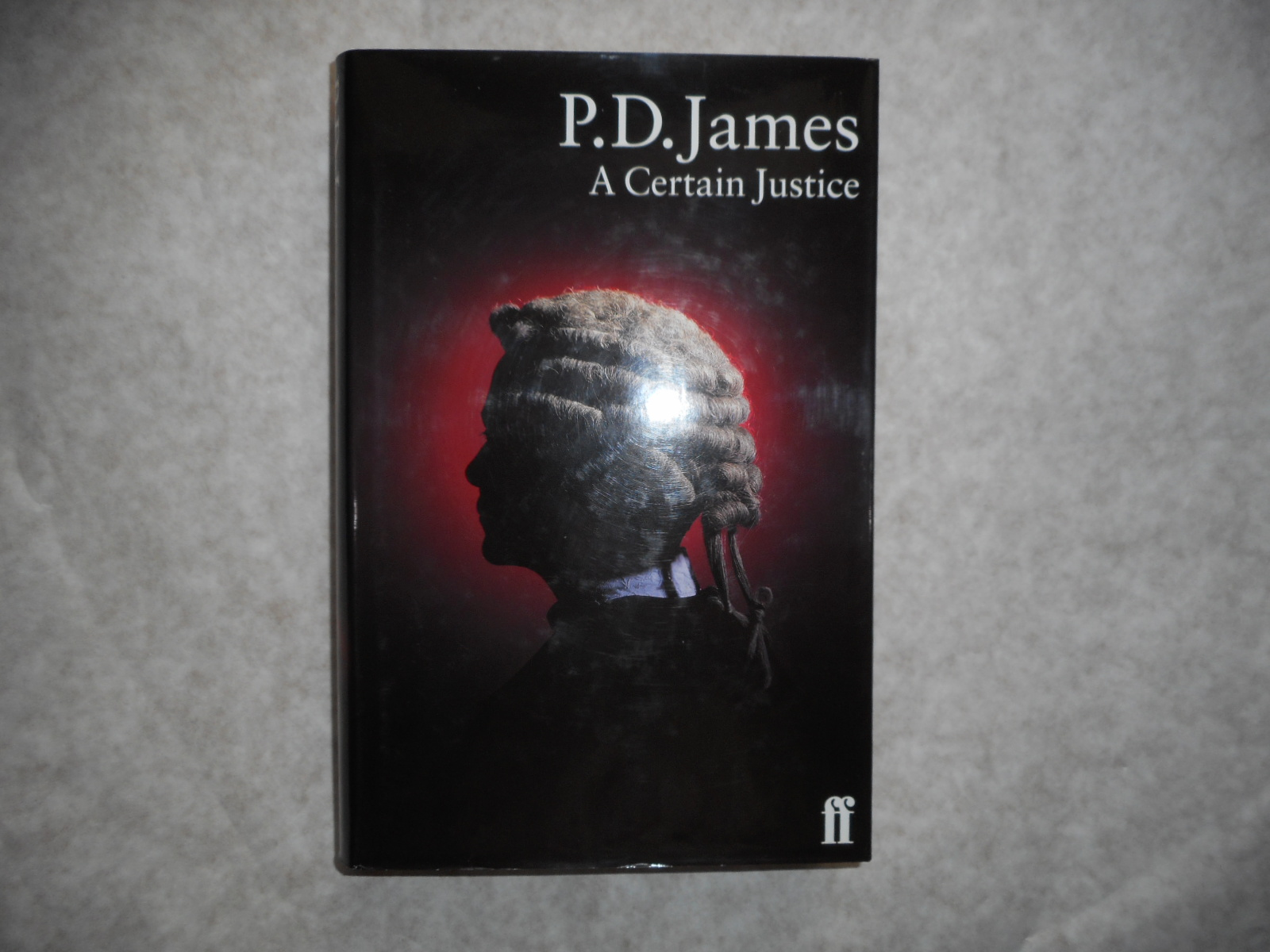 Image for A Certain Justice (SIGNED Copy)