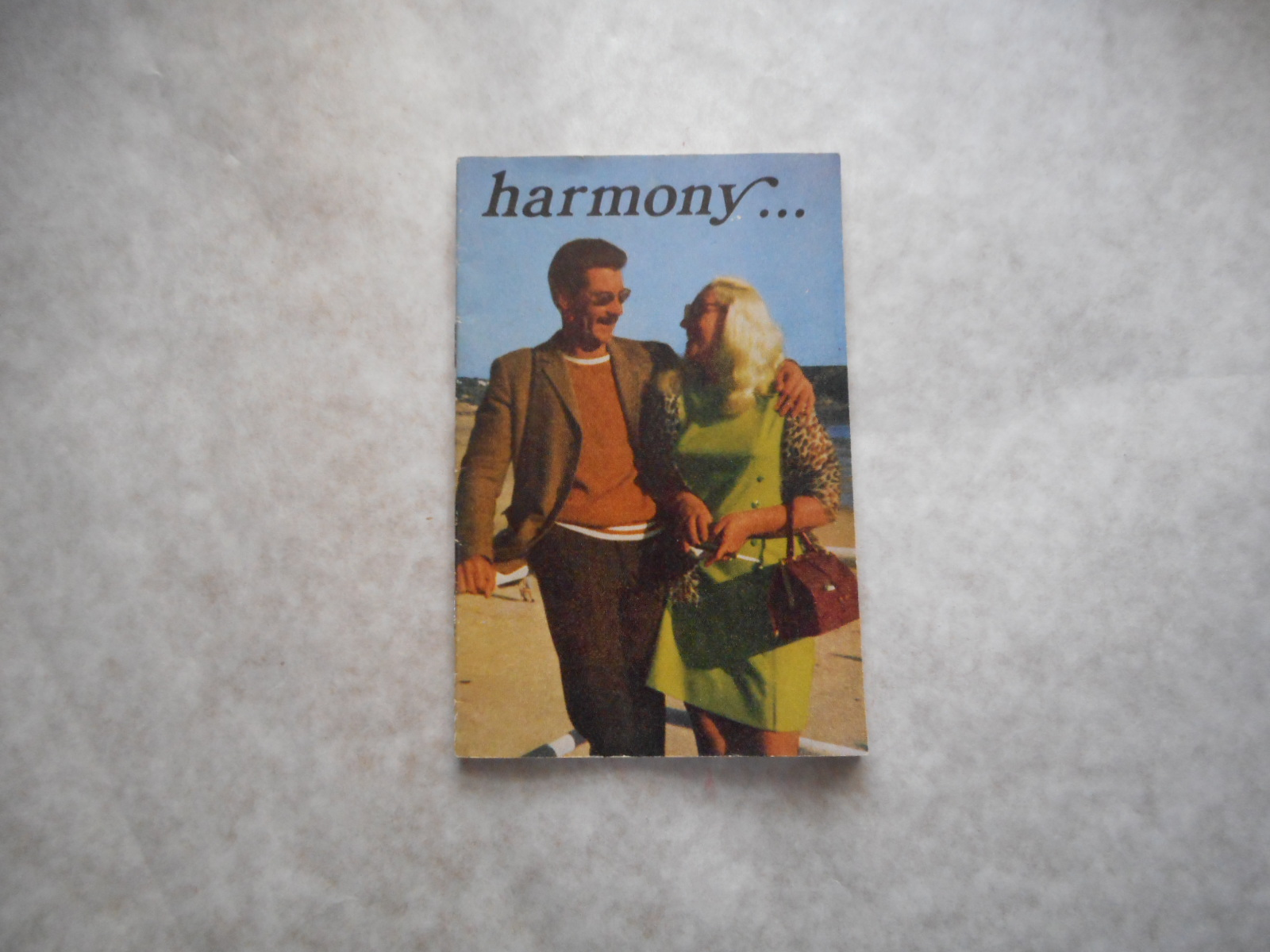 Image for Harmony... (Vintage 1960s Catalogue of ' Intimate ' Products - for MEN)