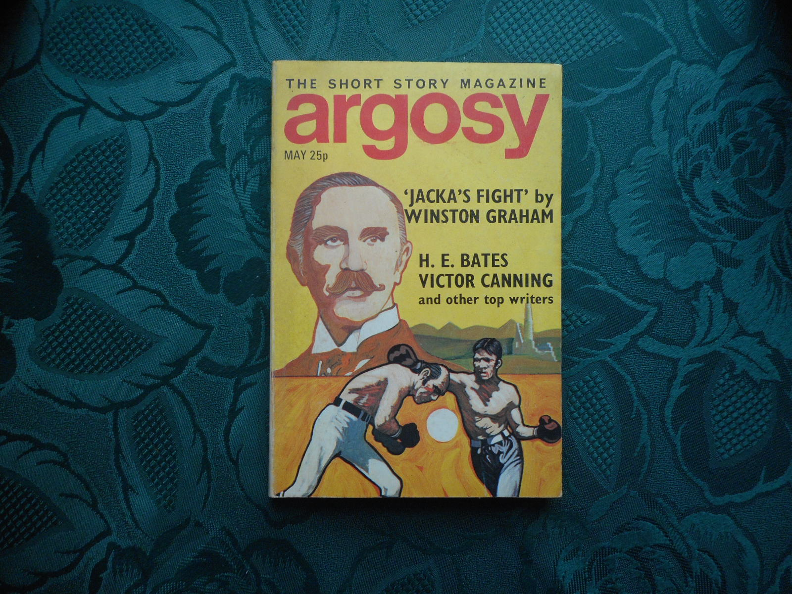 Image for ARGOSY. The Short Story Magazine. May 1971. Vol XXXII. No. 4. Volume 32. Number 4.