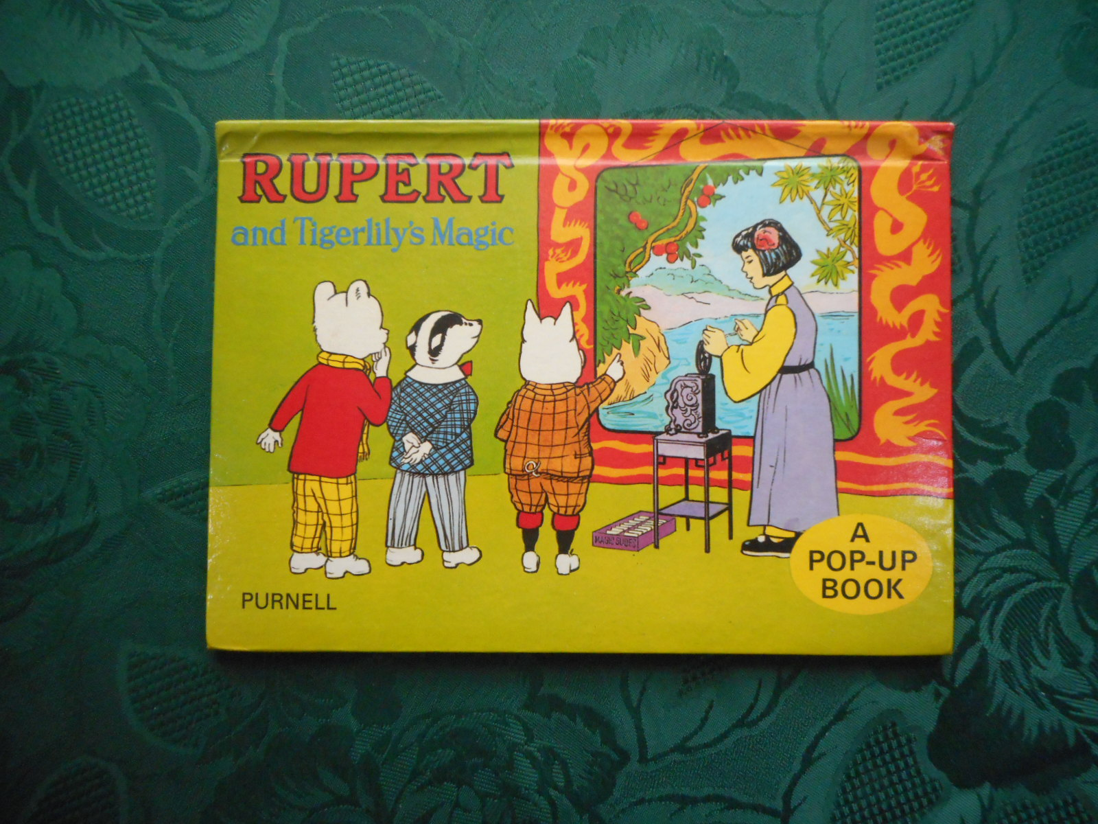 Image for Rupert and Tigerlily's Magic (A POP-UP Book)
