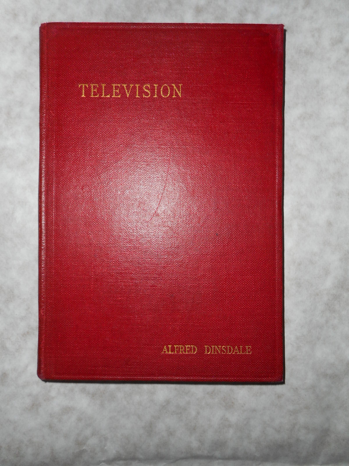Image for Television .  First Edition.  The FIRST Book in English on TELEVISION.