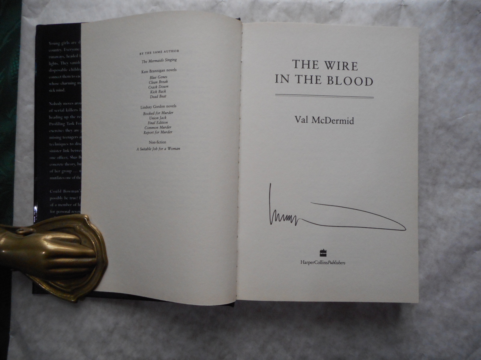 The Wire in the Blood (SIGNED Copy)