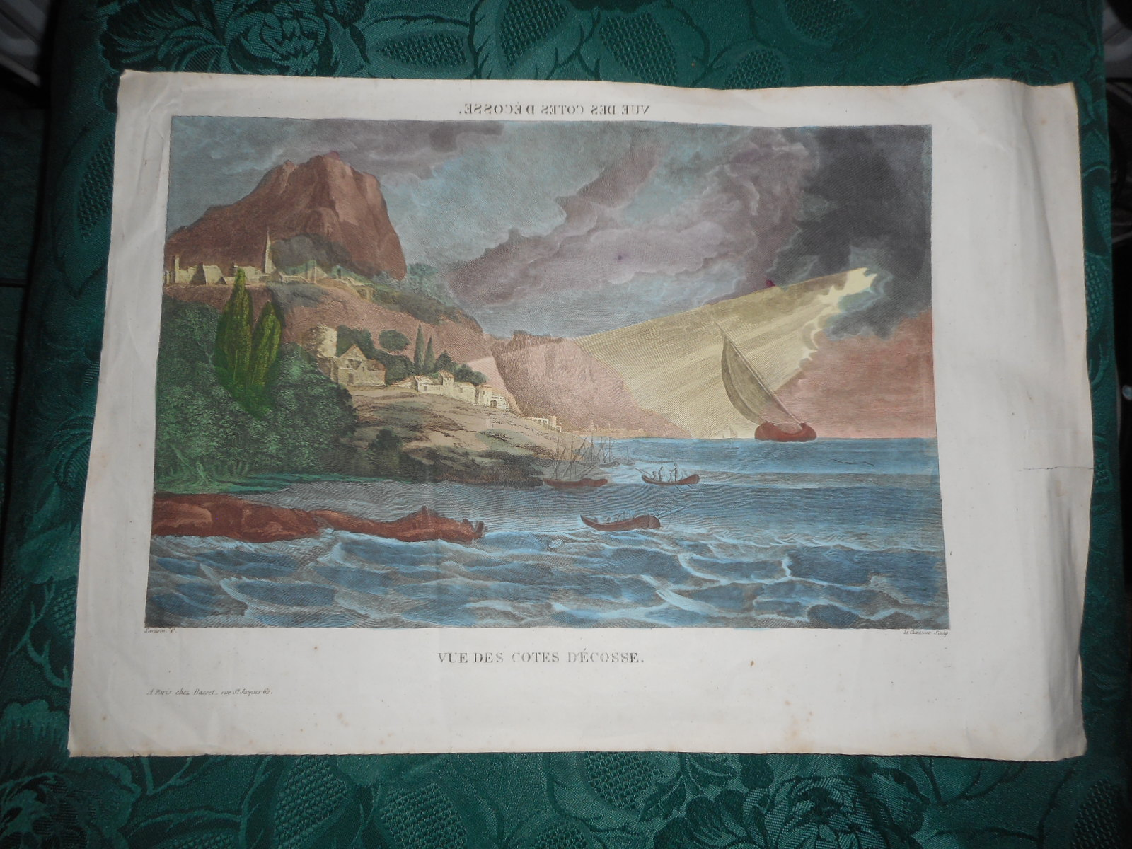 Image for VUE DES CÔTES D'ECOSSE (Vue Optique/Optical or Perspective View)  View of the Coasts of Scotland