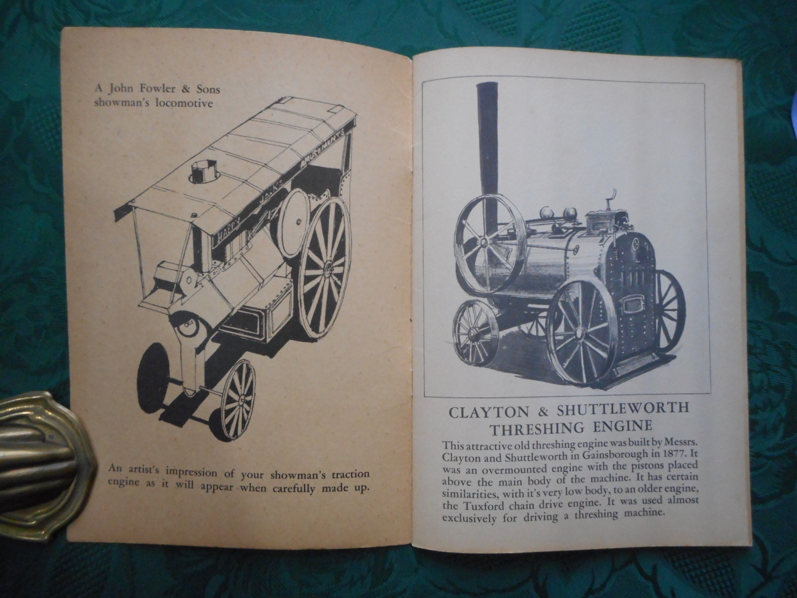 "Image for Press-Out Scale Model Traction Engine A ""Treasure Hour"" Press-Out Activity Book"