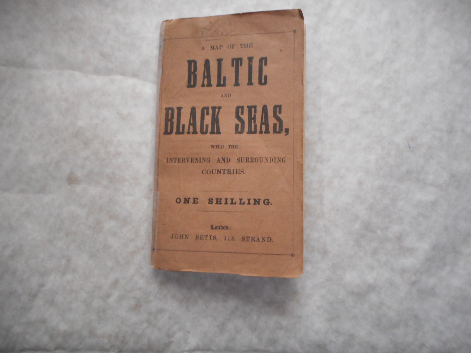 Image for A Map of the Baltic and Black Seas, with the Intervening and Surrounding Countries