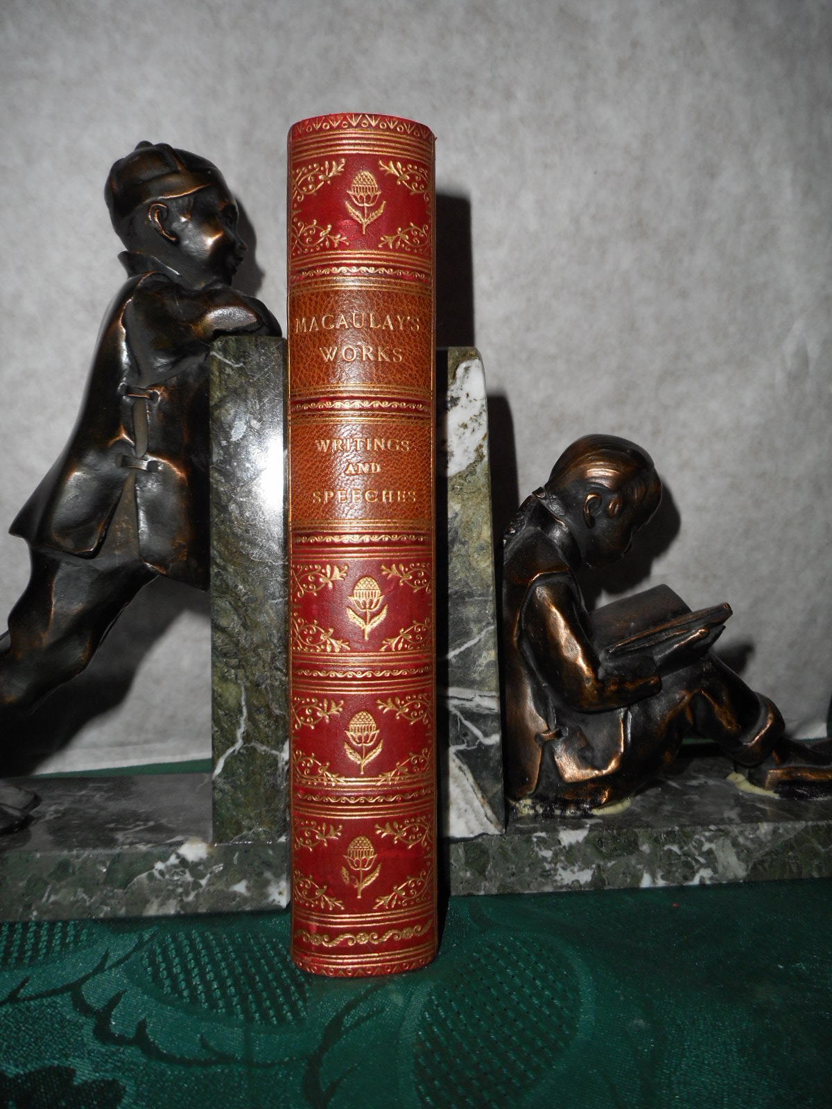 Image for The Miscellaneous Writings and Speeches of Lord Macaulay.  Popular Edition (Original Leather Binding)