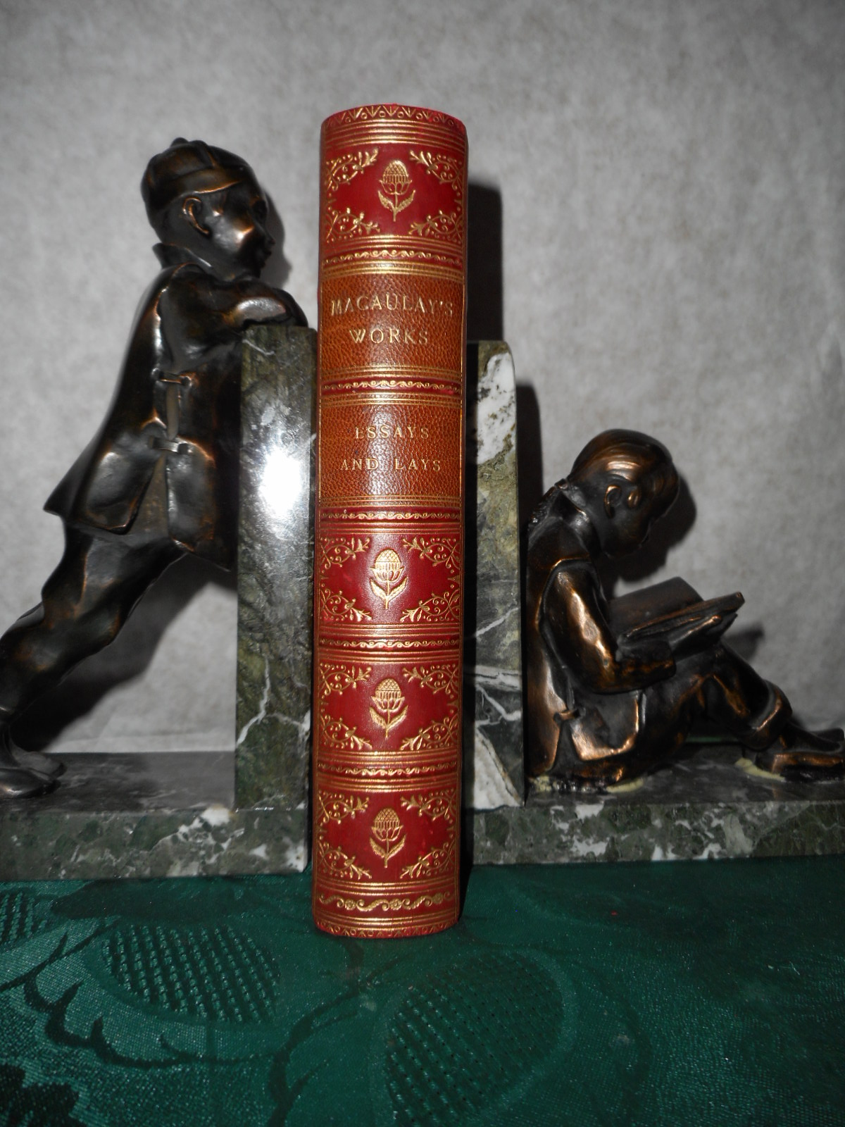 Image for Lord Macaulay's Essays and Lays of Ancient Rome Popular Edition (Original Leather Binding)