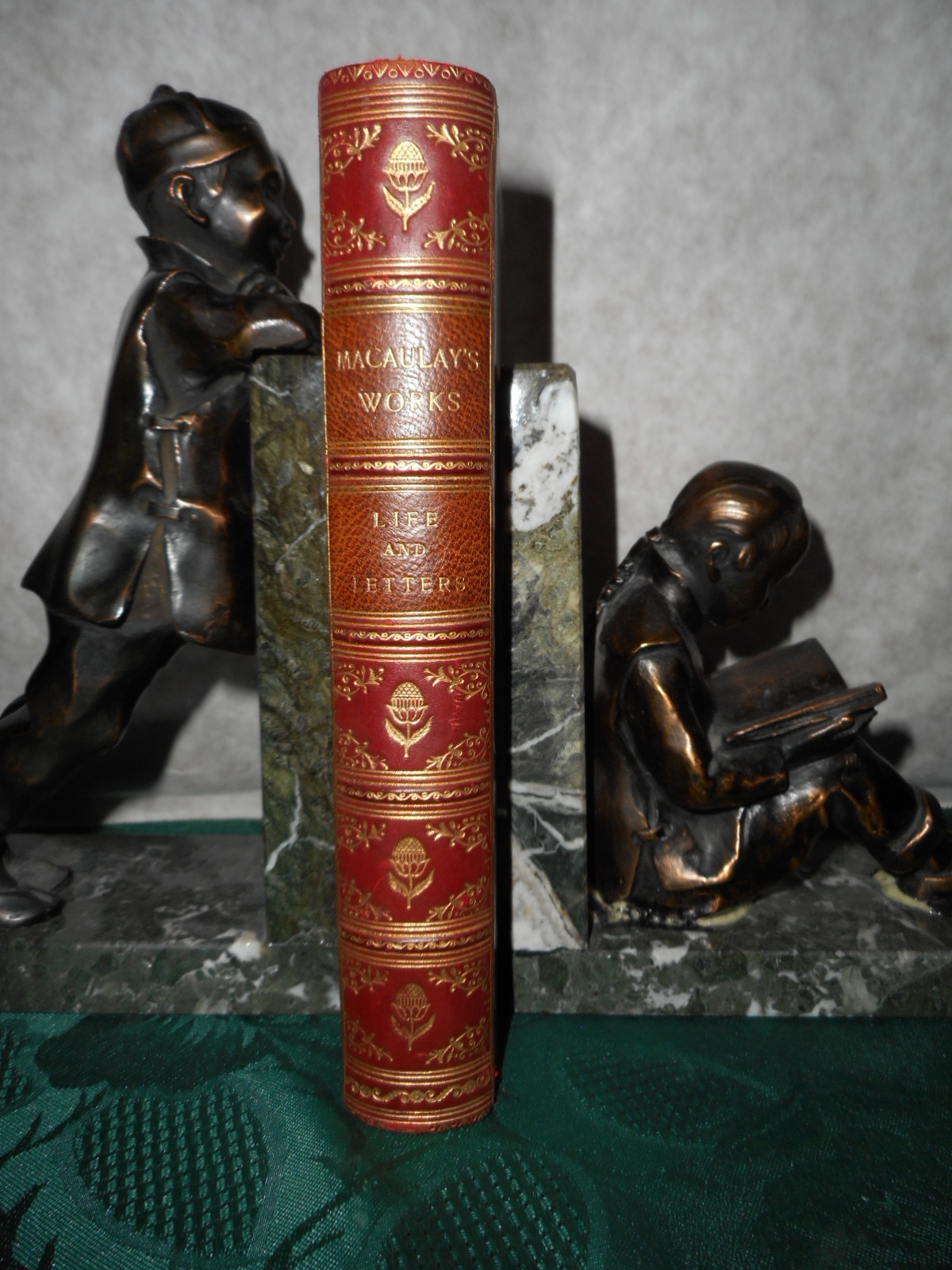 Image for The Life and Letters of Lord Macaulay Popular Edition (Original Leather Binding)