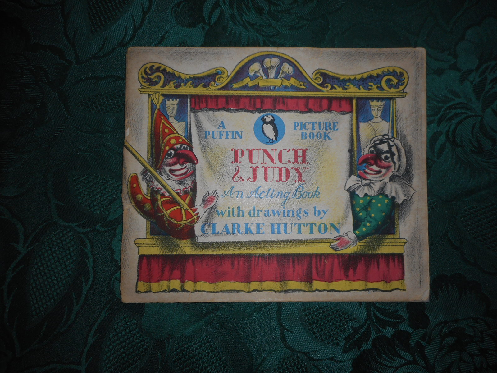 Image for Punch & Judy. An Acting Book. A Puffin Picture Book. No. 26.