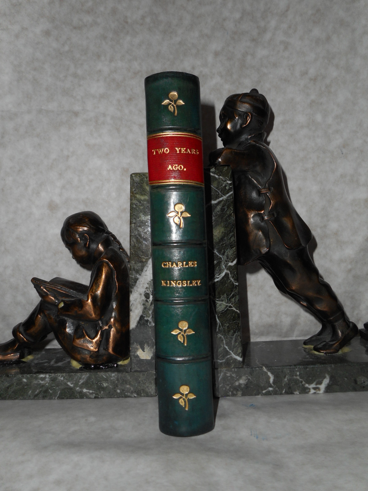 Image for Two Years Ago  (Turn of the Century Half-Leather Binding)
