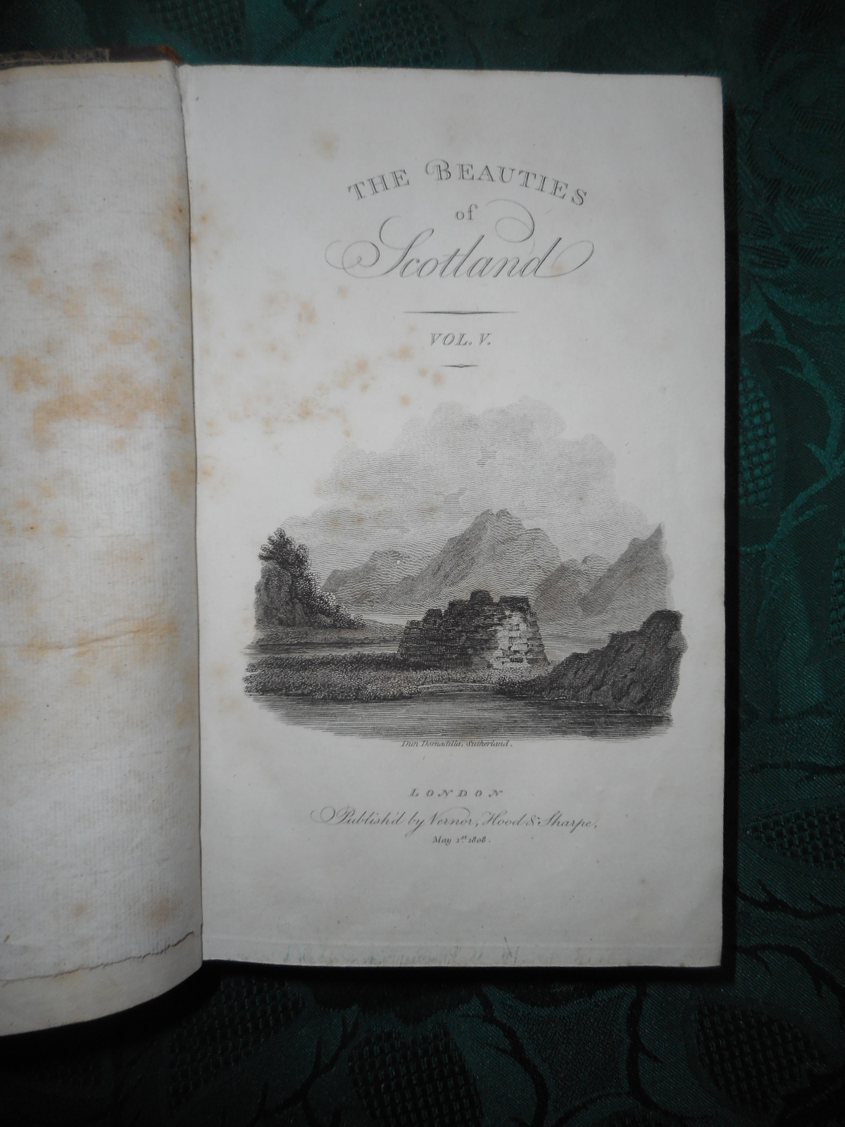 Image for The Beauties of Scotland: Containing a Clear and Full Account of the Agriculture, Commerce, Mines, and Manufactures; of the Population, Cities, Towns, Villages, Etc,. of Each County.  FIVE Volumes. Embellished with Engravings