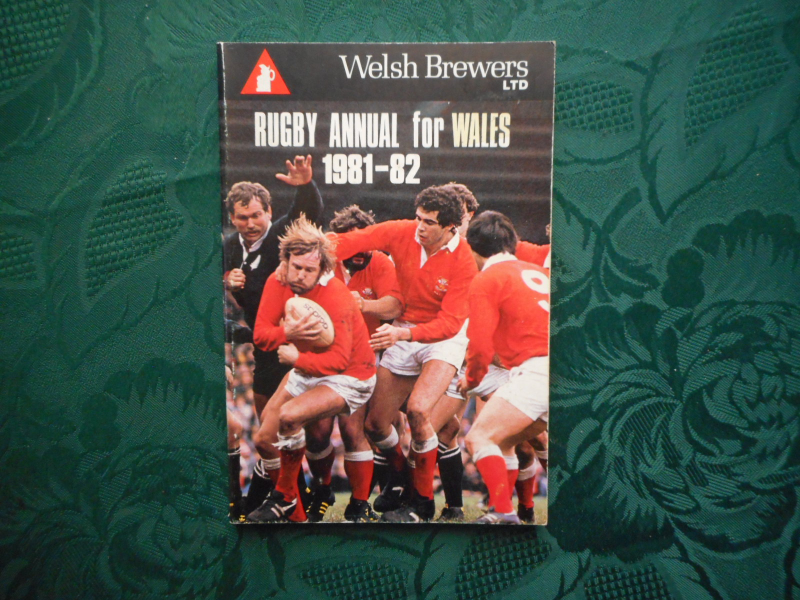 Image for Rugby Annual for Wales 1981-82 (Welsh Brewers)  WRU Centenary Review