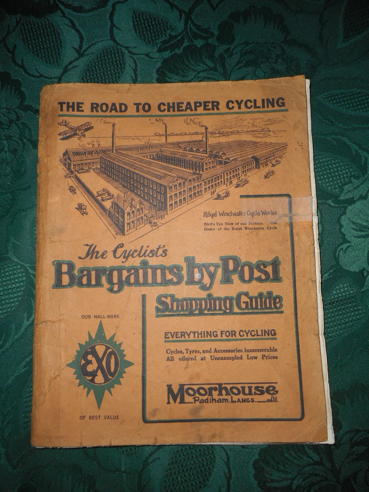 Image for The Cyclist's Bargains by Post, Shopping Guide. Everything for Cycling... (Cycling Catalogue 1925 - Priced)