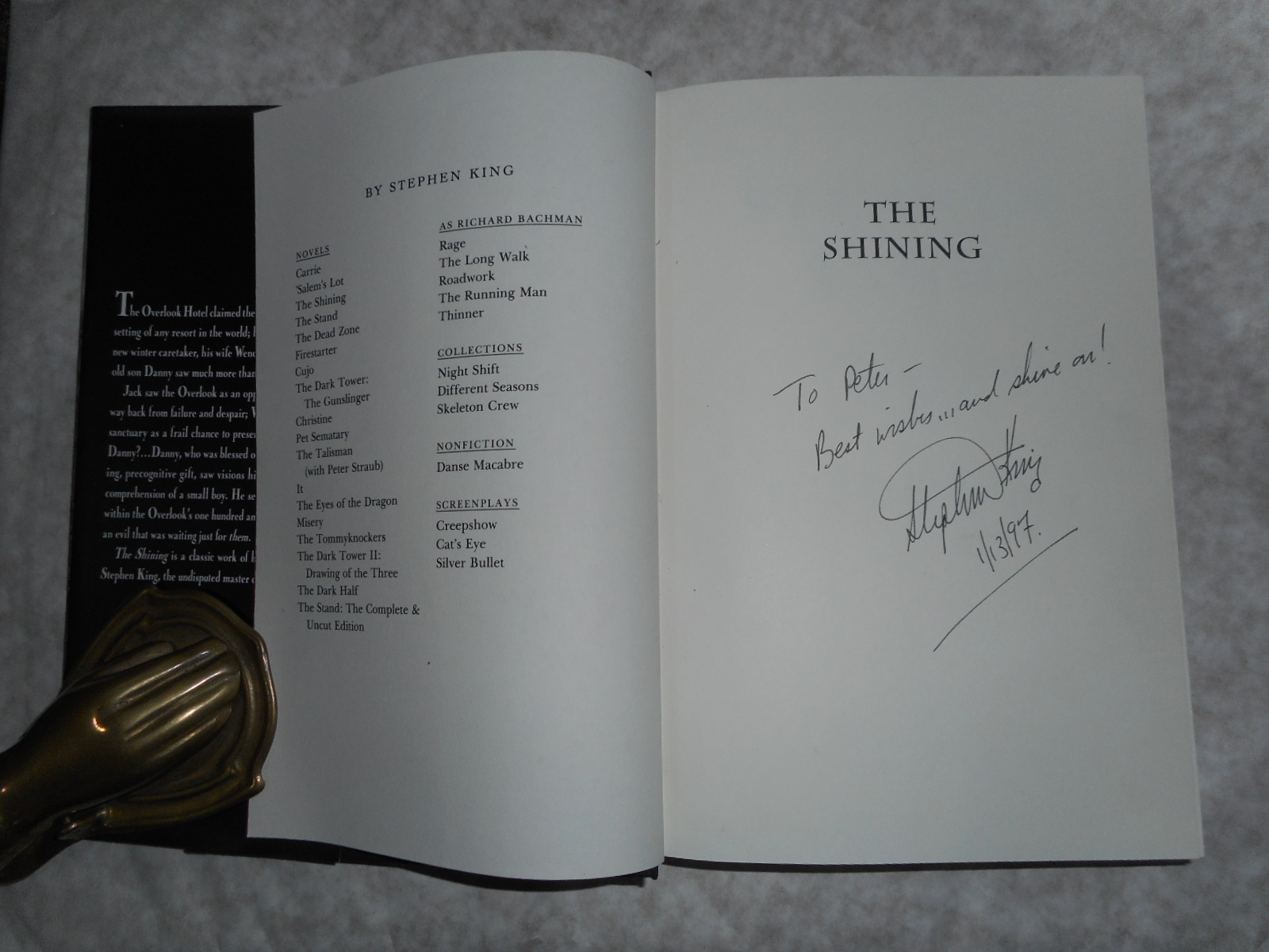 Image for The Shining (SIGNED COPY)
