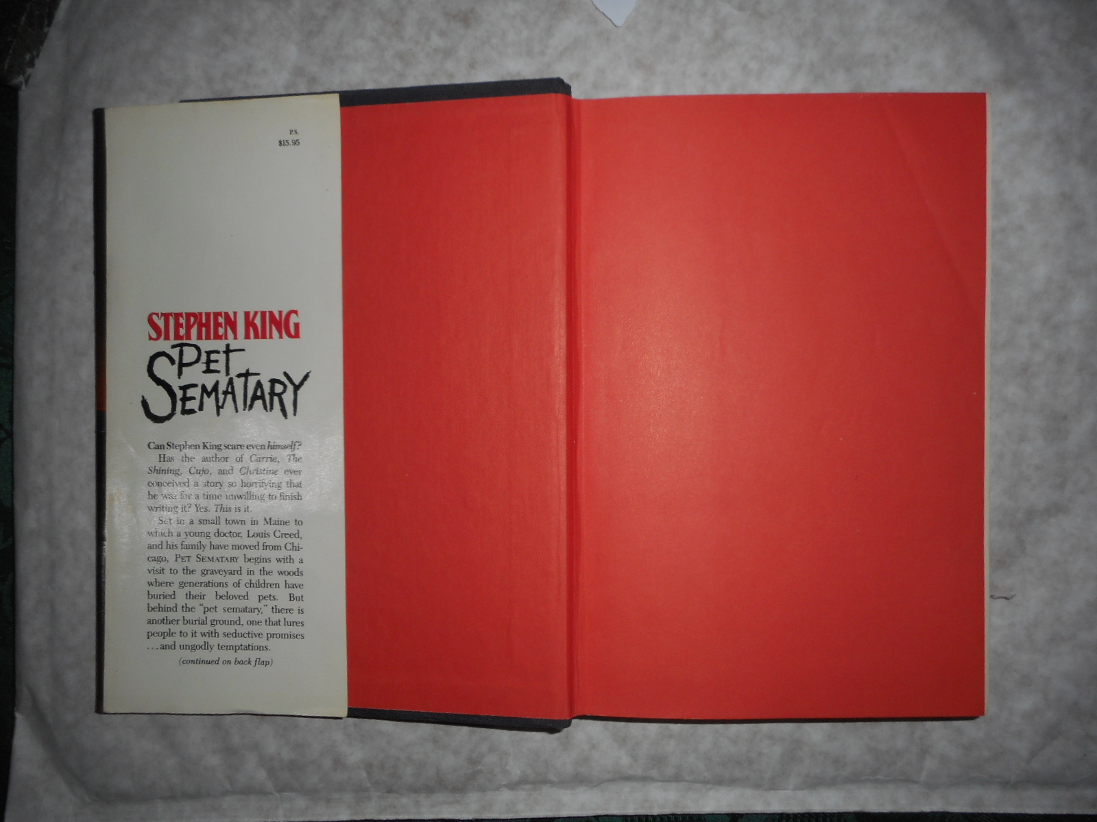 Image for Pet Sematary (SIGNED COPY)