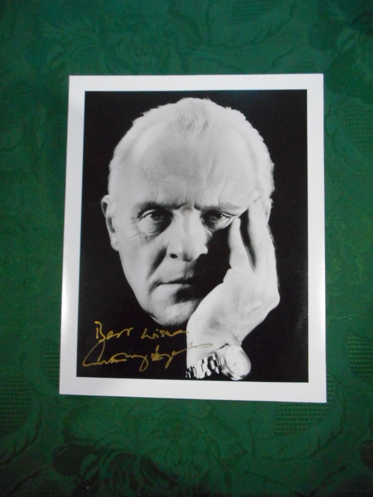 Image for ANTHONY HOPKINS - SIGNED Portrait Photograph of