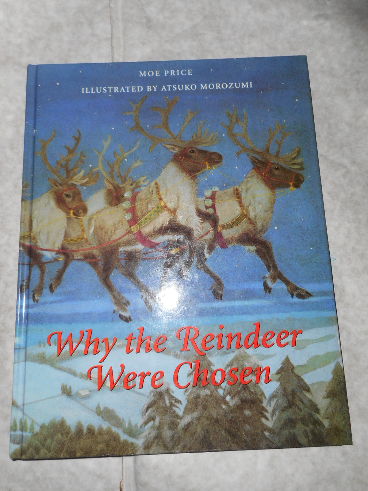 Image for Why The Reindeer Were Chosen