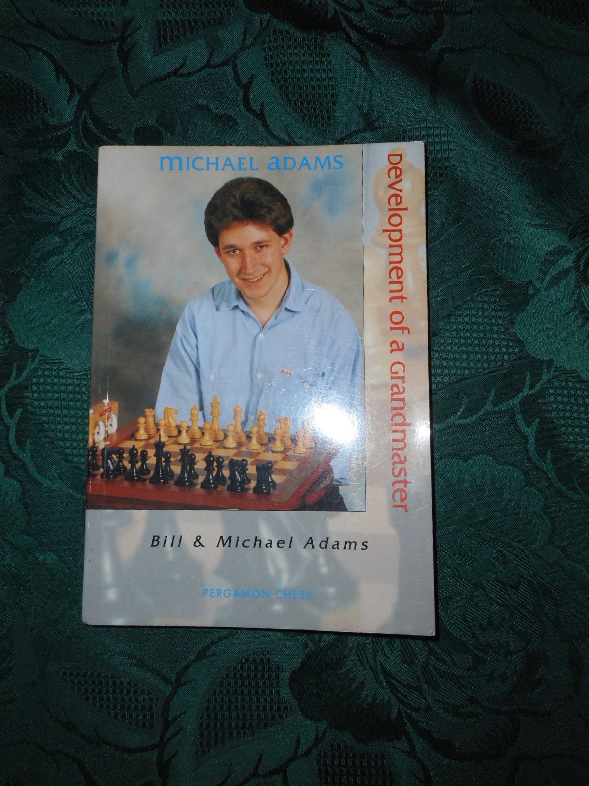Image for Michael Adams. Development of a Grandmaster (SIGNED Copy)