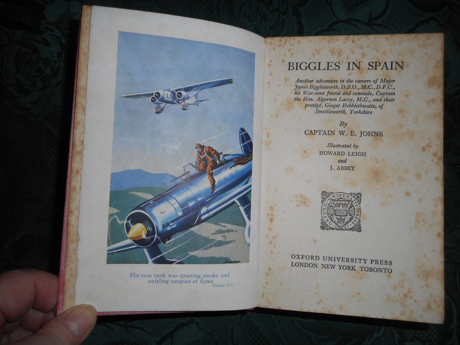 Image for Biggles in Spain