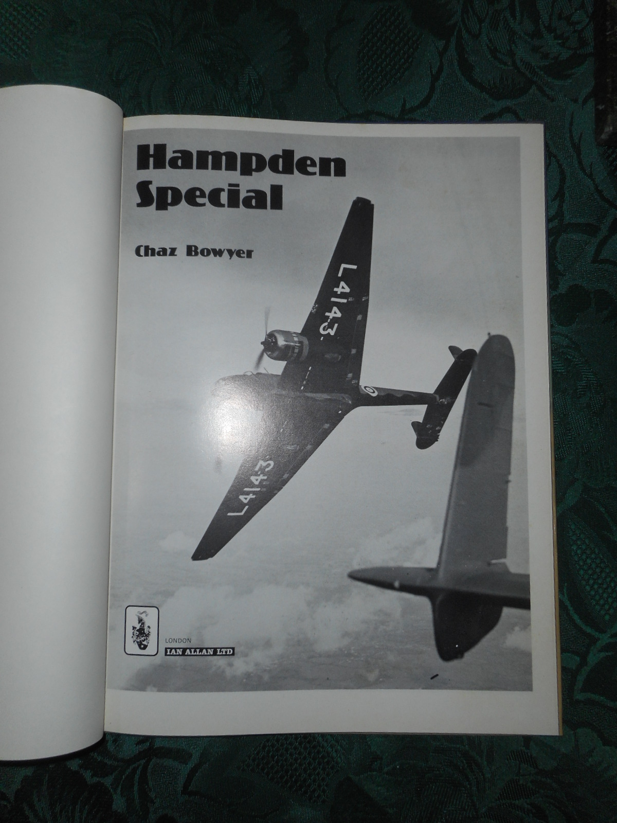 Image for Hampden Special  (The Handley Page HP52)