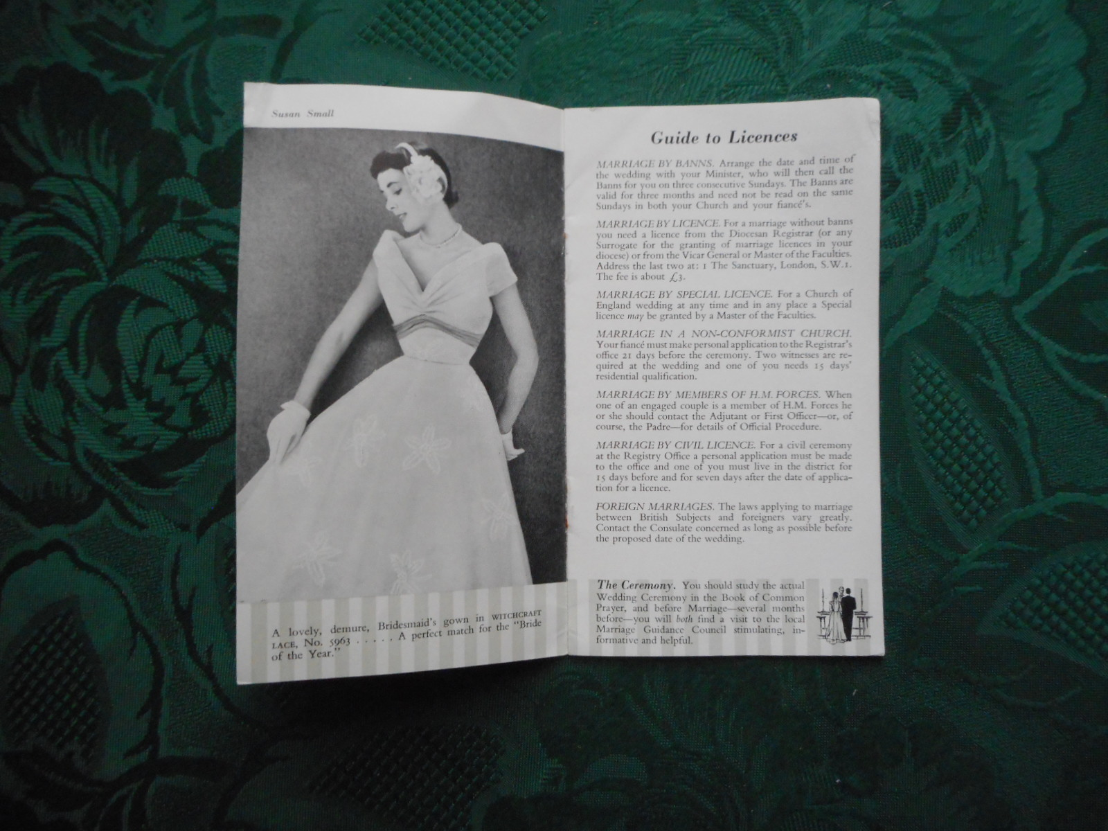 Image for Witchcraft Lace - Small Bridal Catalogue, Featuring RADIANT Veils, Etc. Wichcraft Lace, Nottingham