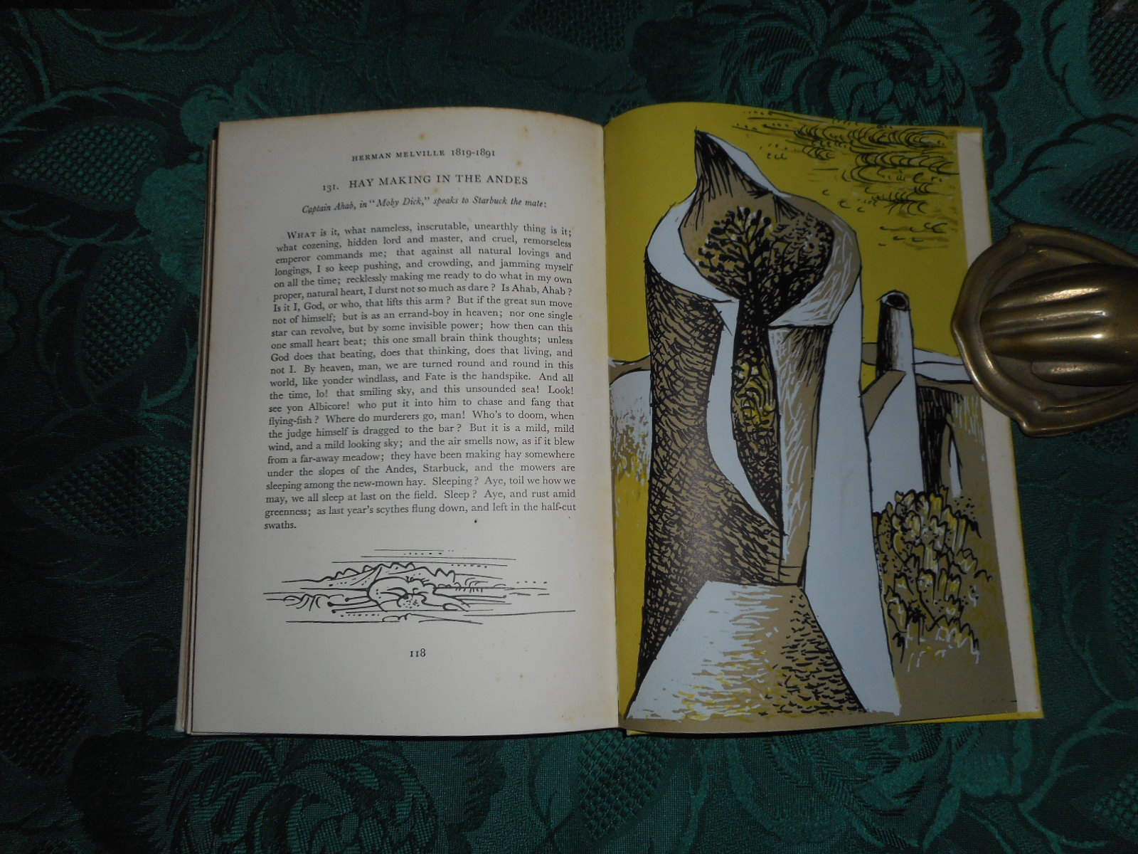 Image for Visionary Poems and Passages or the Poet's Eye.  With Original Lithographs by John Craxton