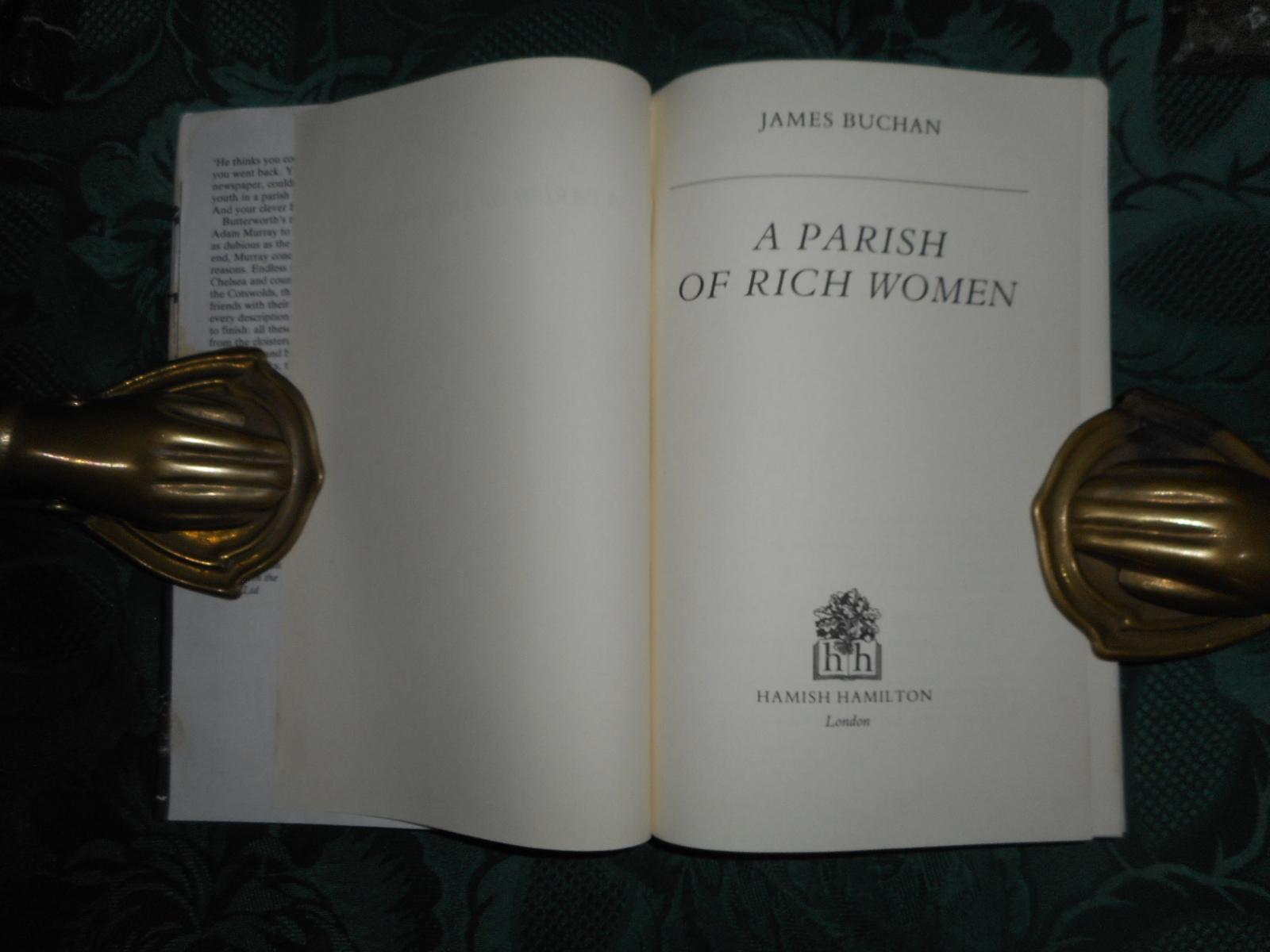 Image for A Parish of Rich Women
