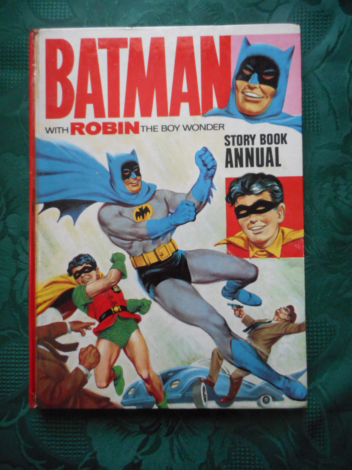 Image for BATMAN with Robin The Boy Wonder. Story Book Annual