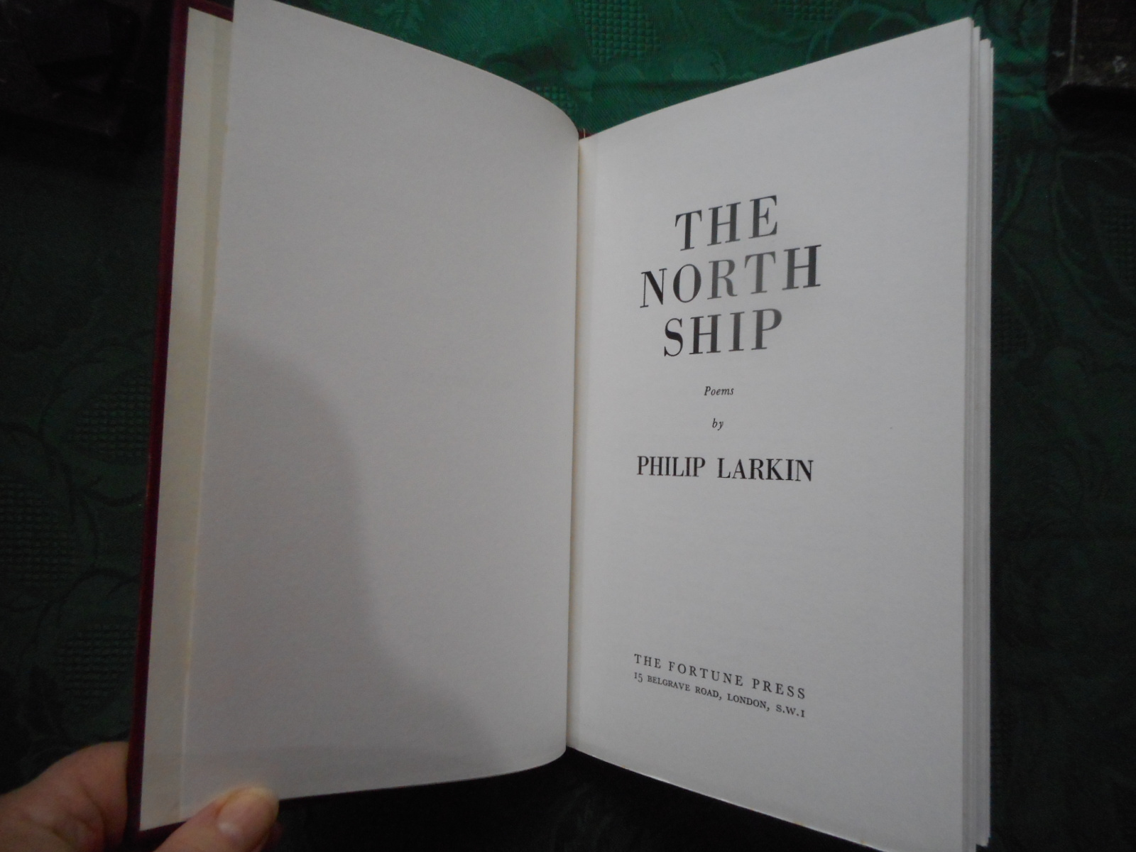 Image for The North Ship - Poems by Philip Larkin