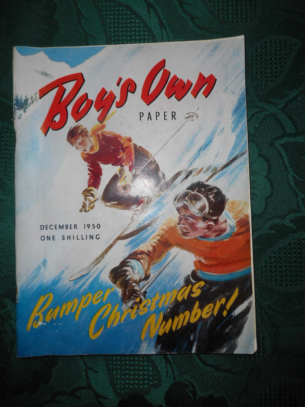 Image for BOY'S OWN PAPER - December 1950. Bumper CHRISTMAS Number! Volume 73. No. 3.