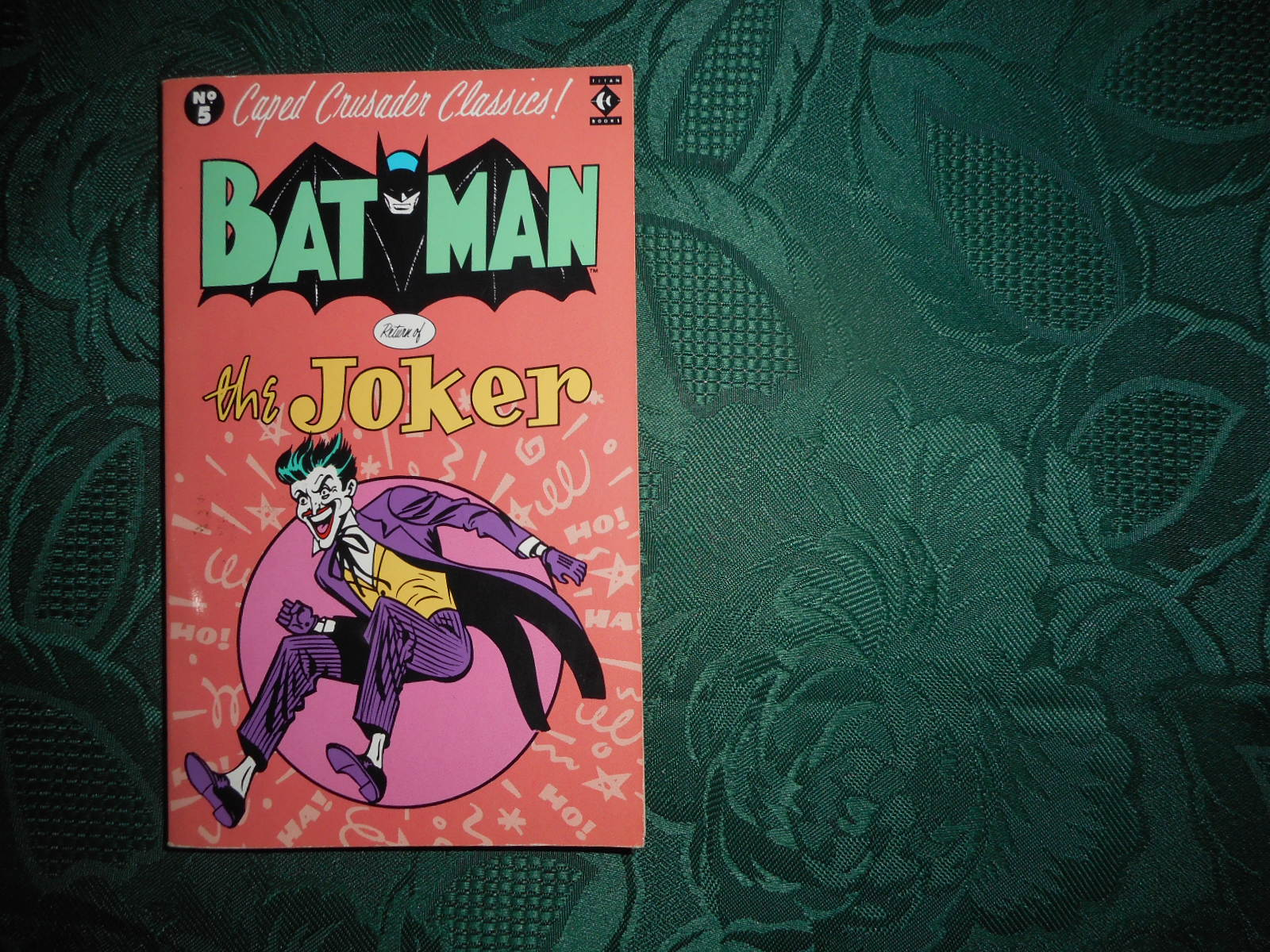 Image for Batman Return of the Joker Caped Crusader Classics No 5