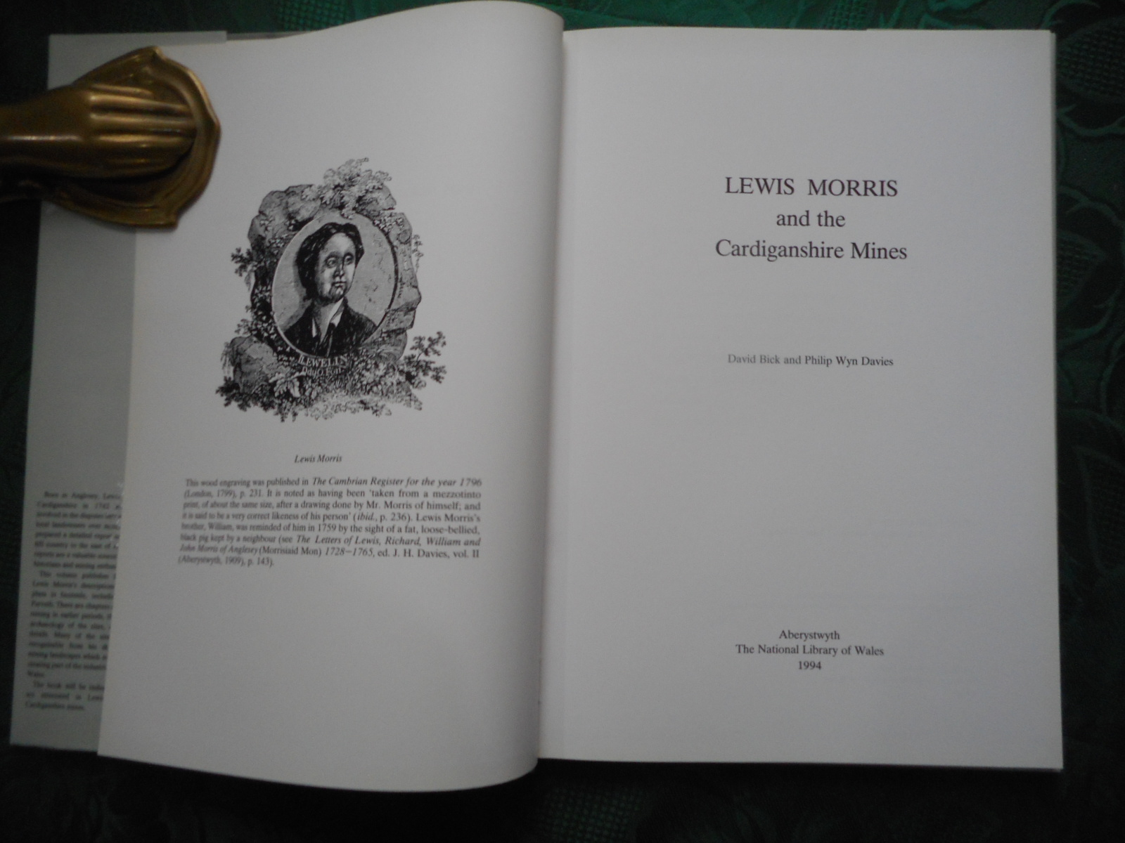 Image for Lewis Morris and the Cardiganshire Mines
