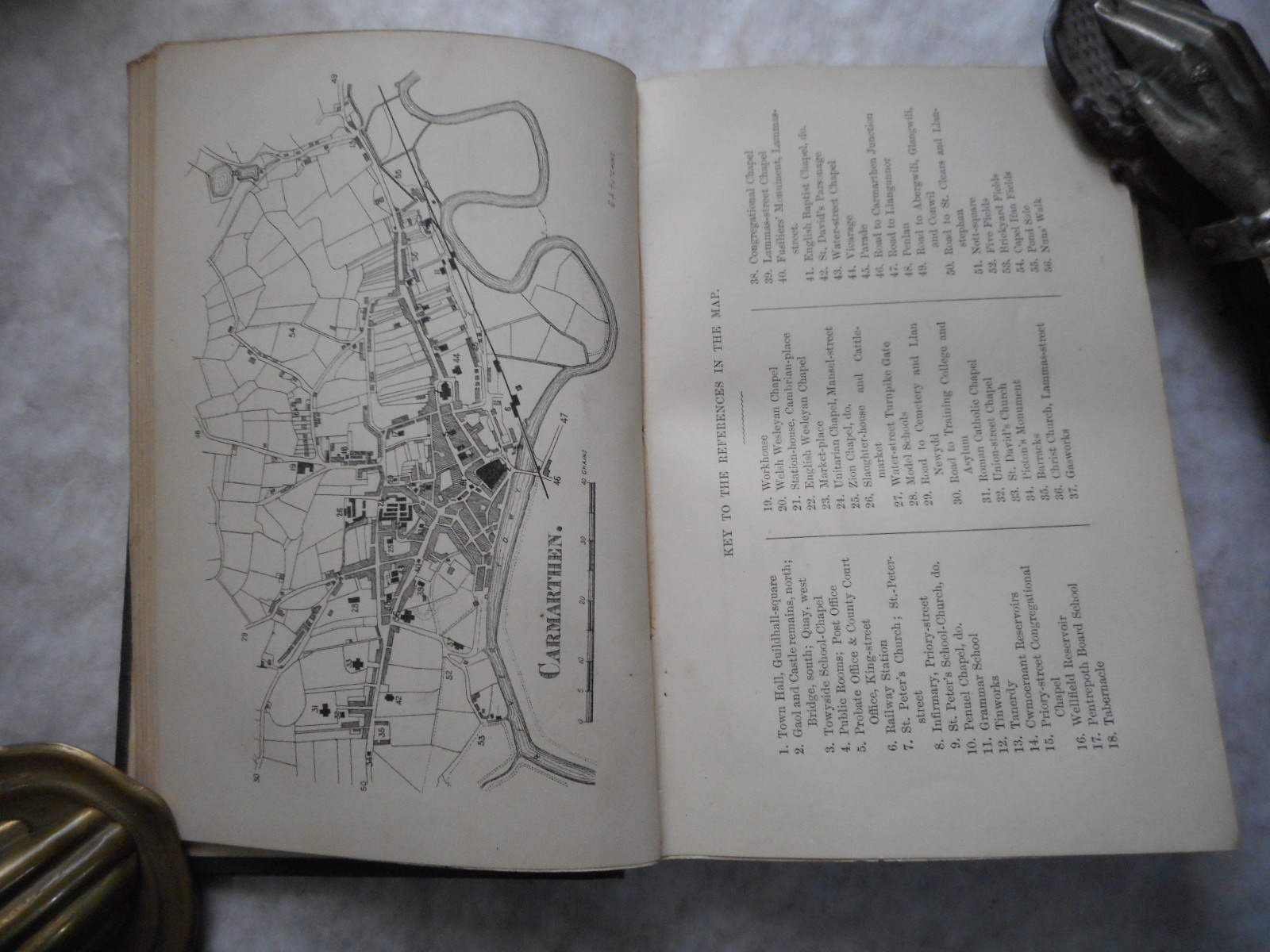 "Image for Carmarthen and its Neighbourhood. Notes Topographical and Historical. (Second Edition. - ""Greatly Enlarged Edition"")   (With Replacement Photocopied Map o/w Complete)"