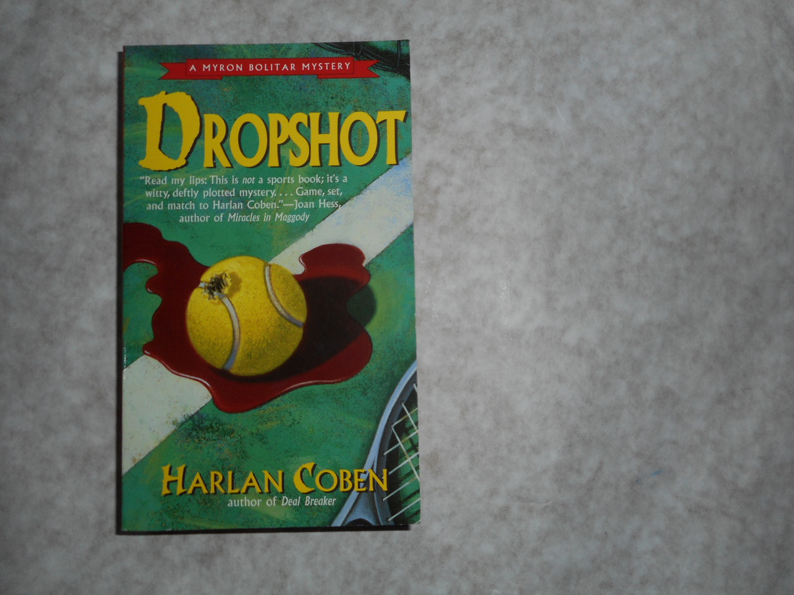 Image for Dropshot. (Drop Shot) SIGNED 1st US Paperback Edition