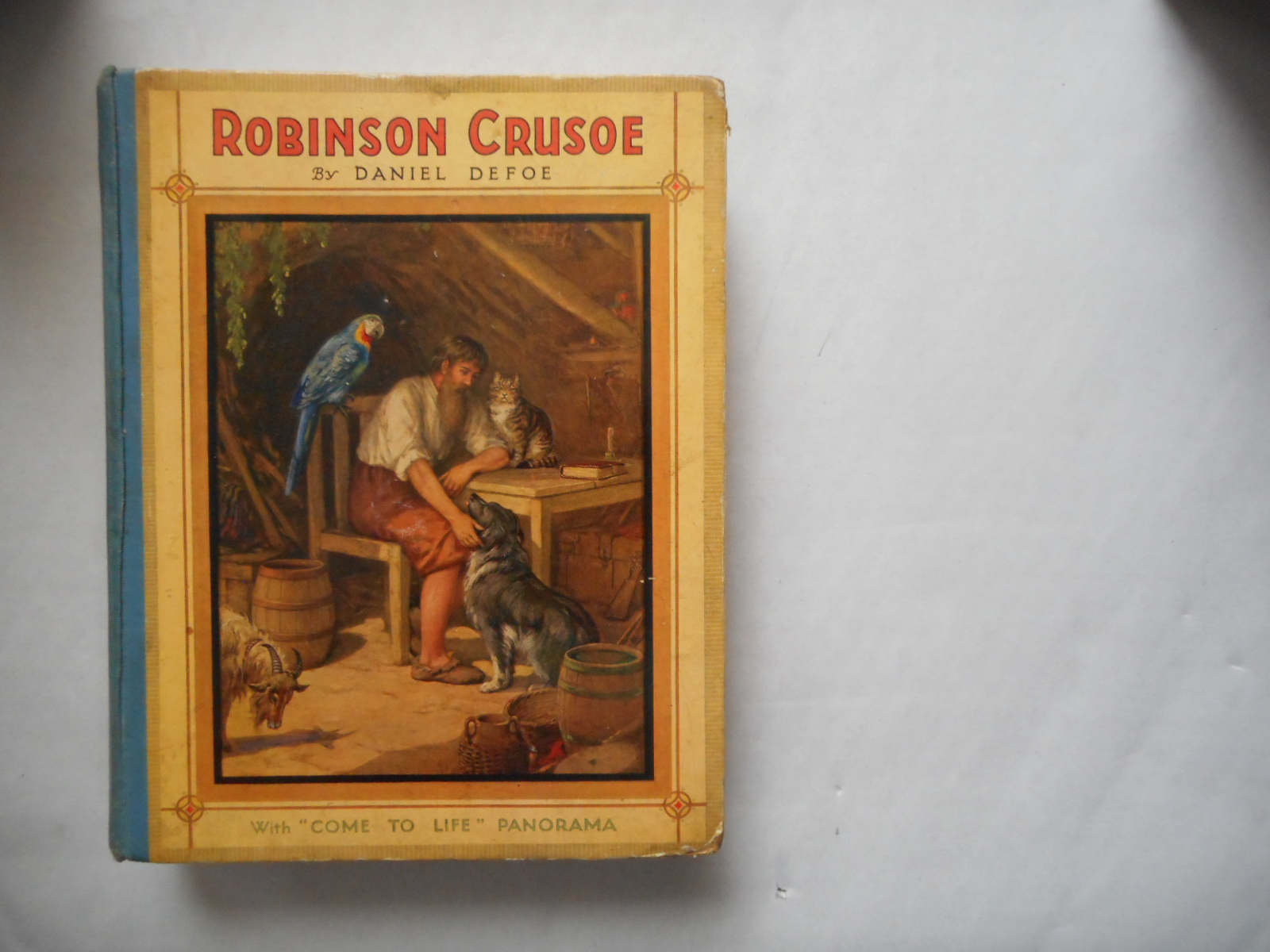 "Image for Robinson Crusoe (Abridged) With "" Come To Life "" Panorama"