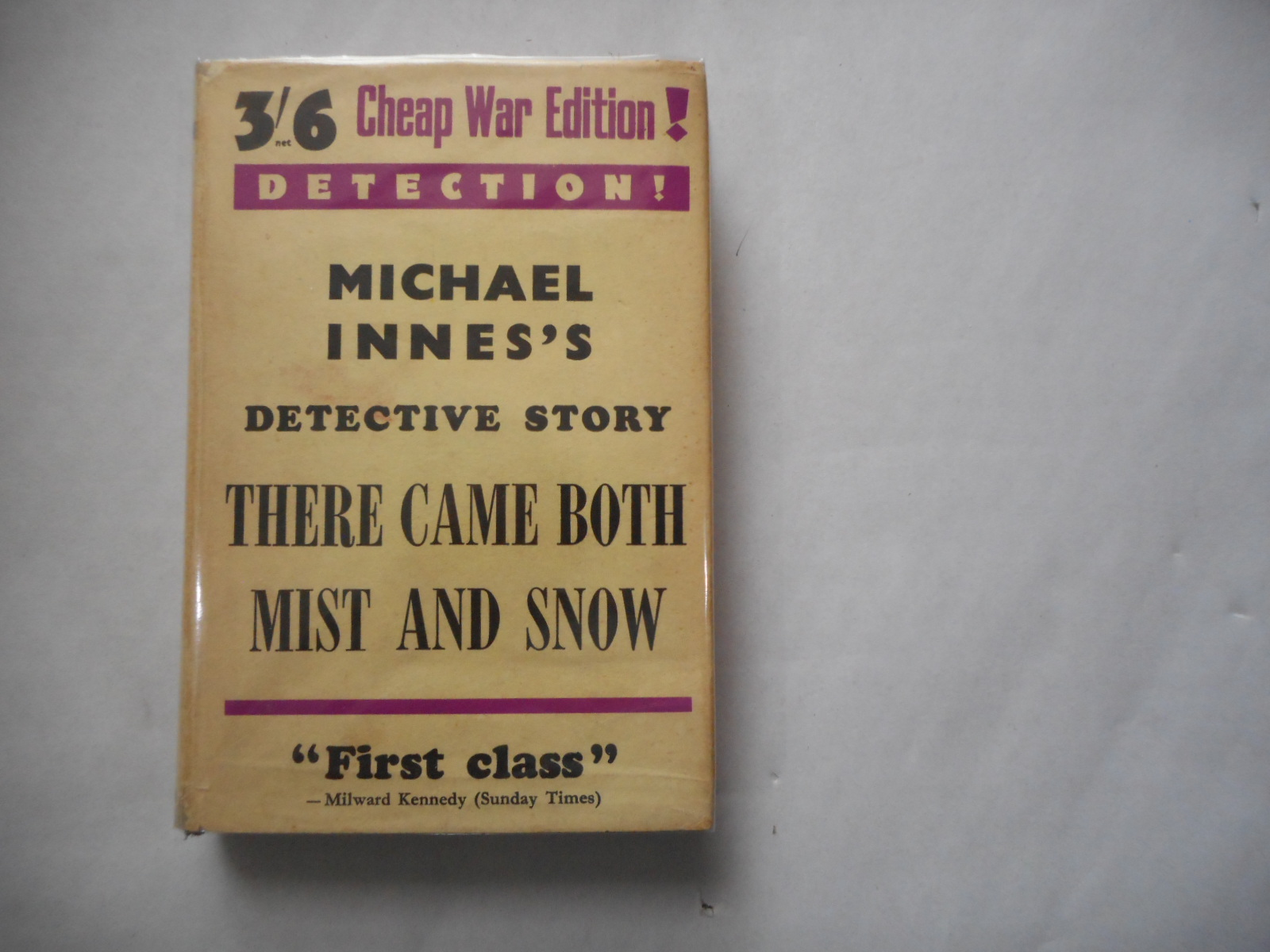 Image for There Came Both Mist And Snow 3/6 Cheap War Edition (1st Thus 1941)