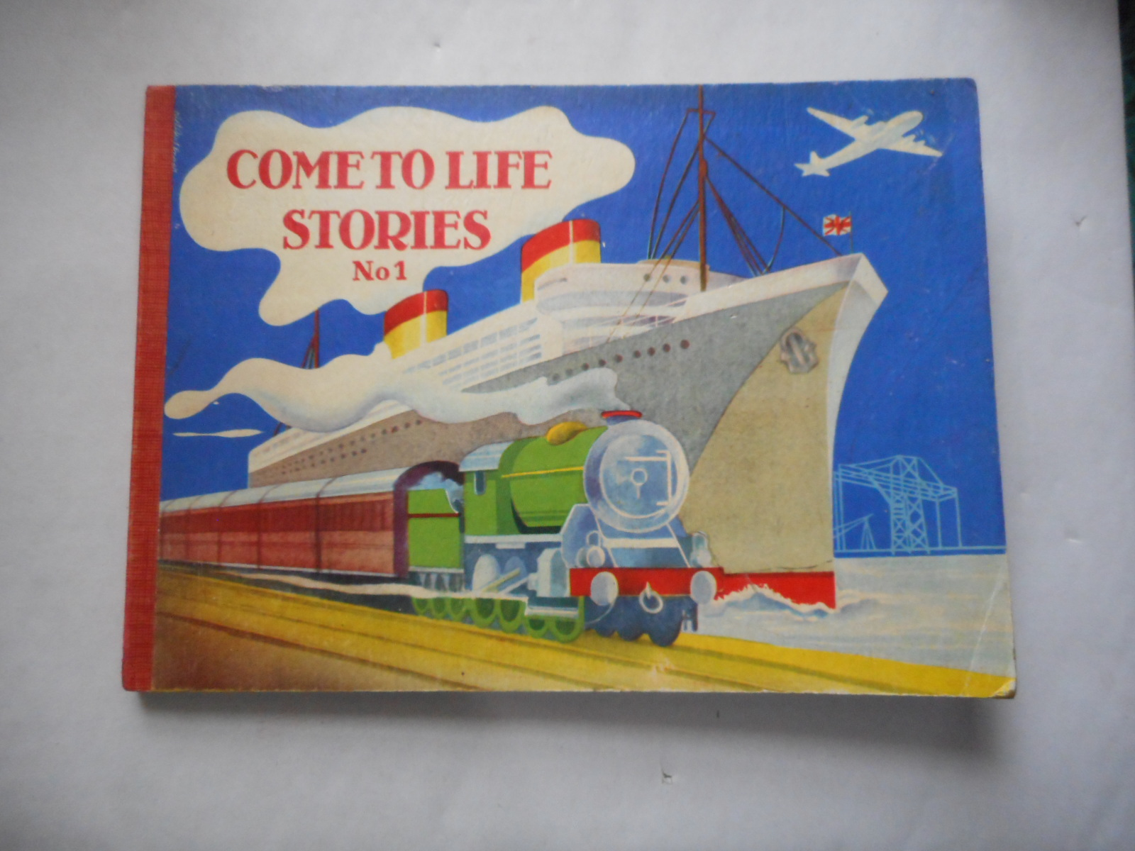 Image for Come To Life Stories No. 1. The Railway Station and the Harbour. a Pop-Up Book.