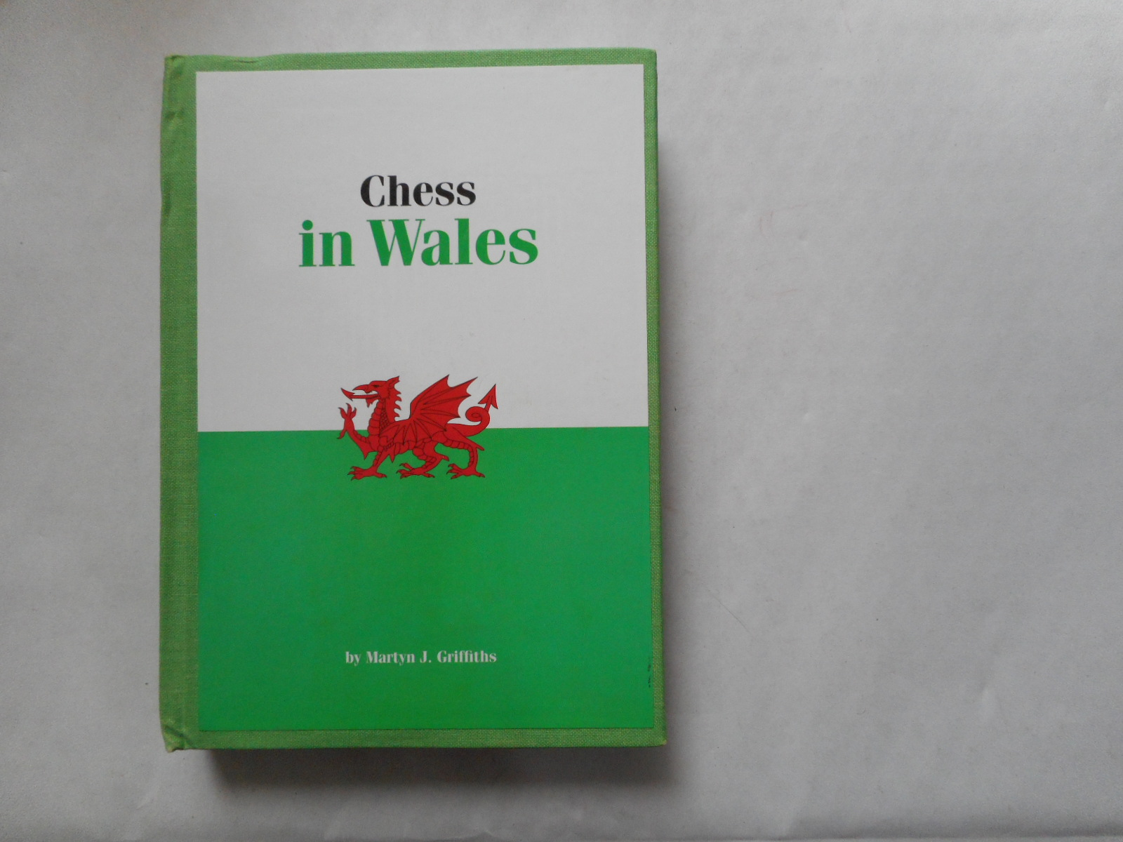 Image for Chess In Wales ( A History of Chess in Wales )